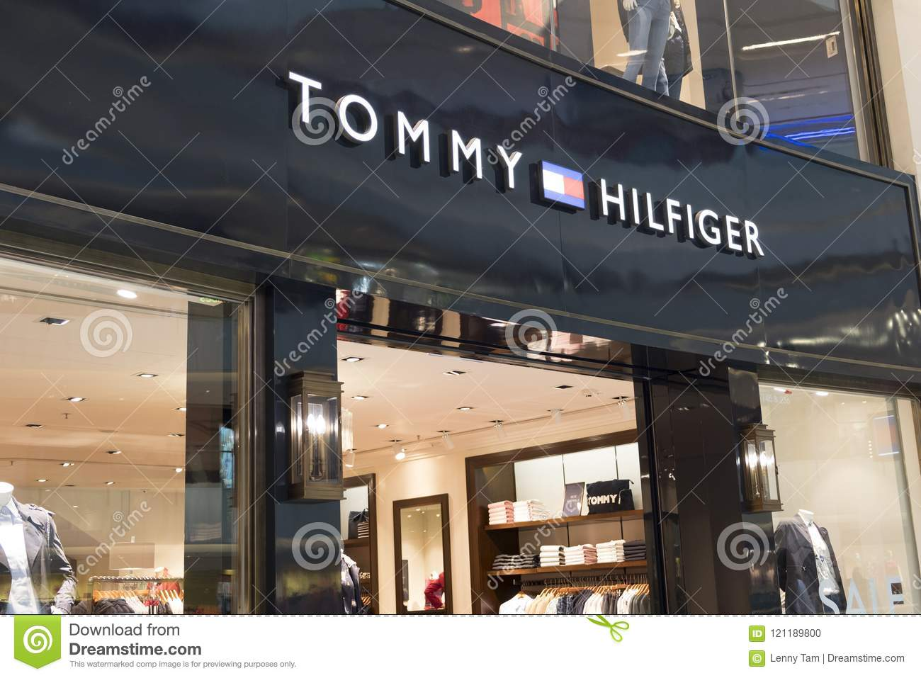 Deposito Di Tommy Hilfiger In Hong Kong Tommy Hilfiger