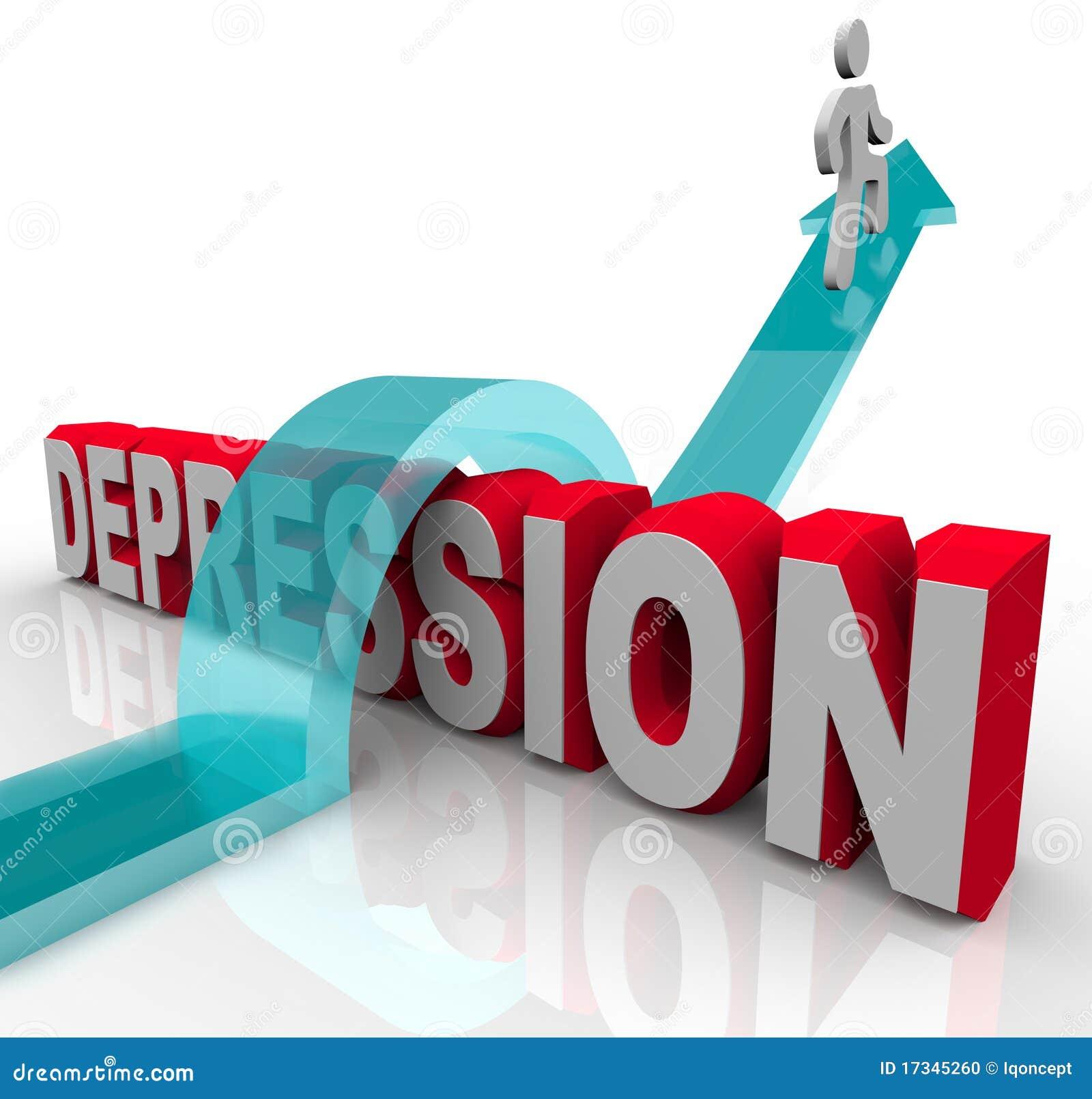 Depressão - saltando sobre a palavra