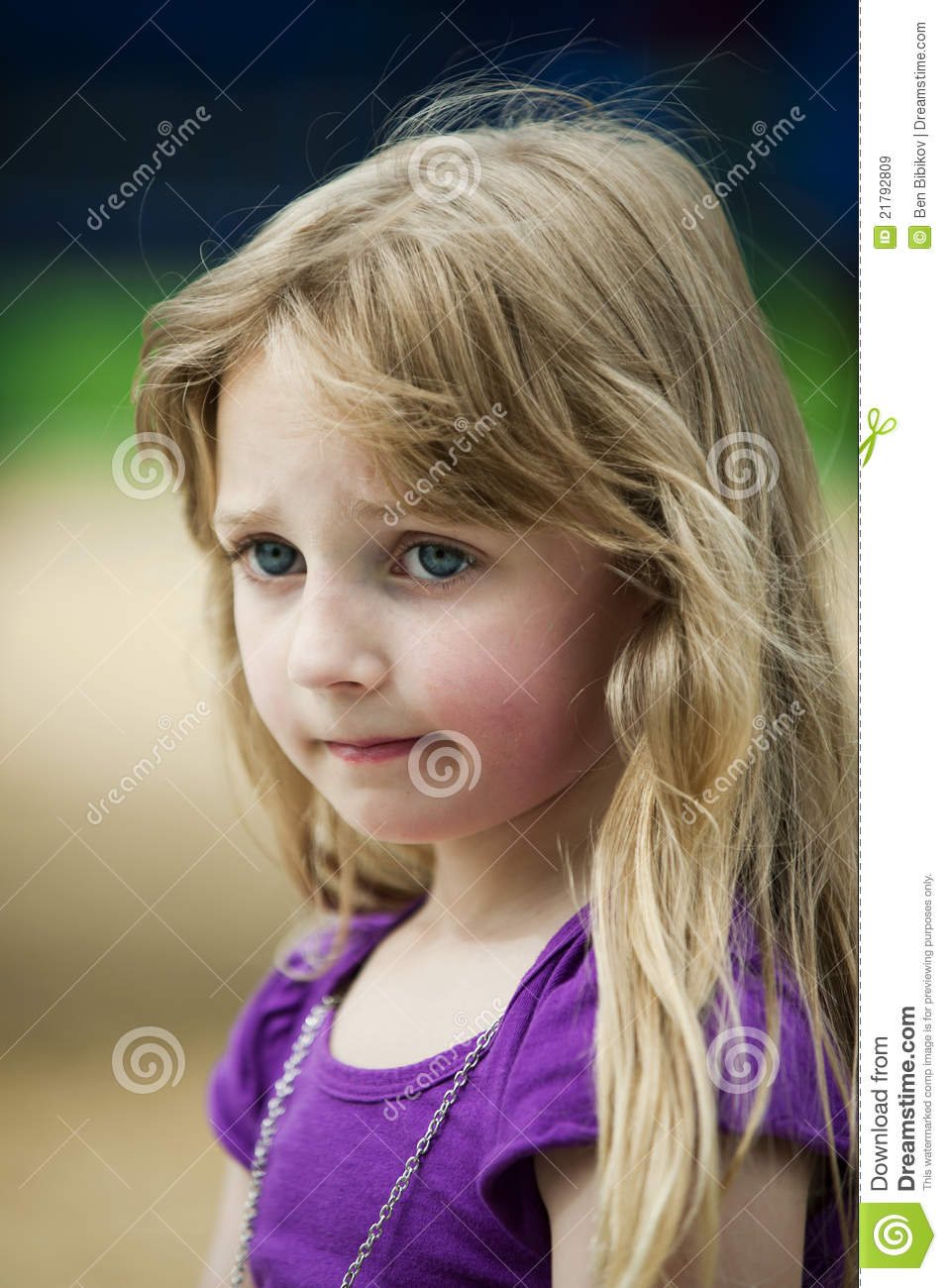 depressed little girl royalty free stock images image