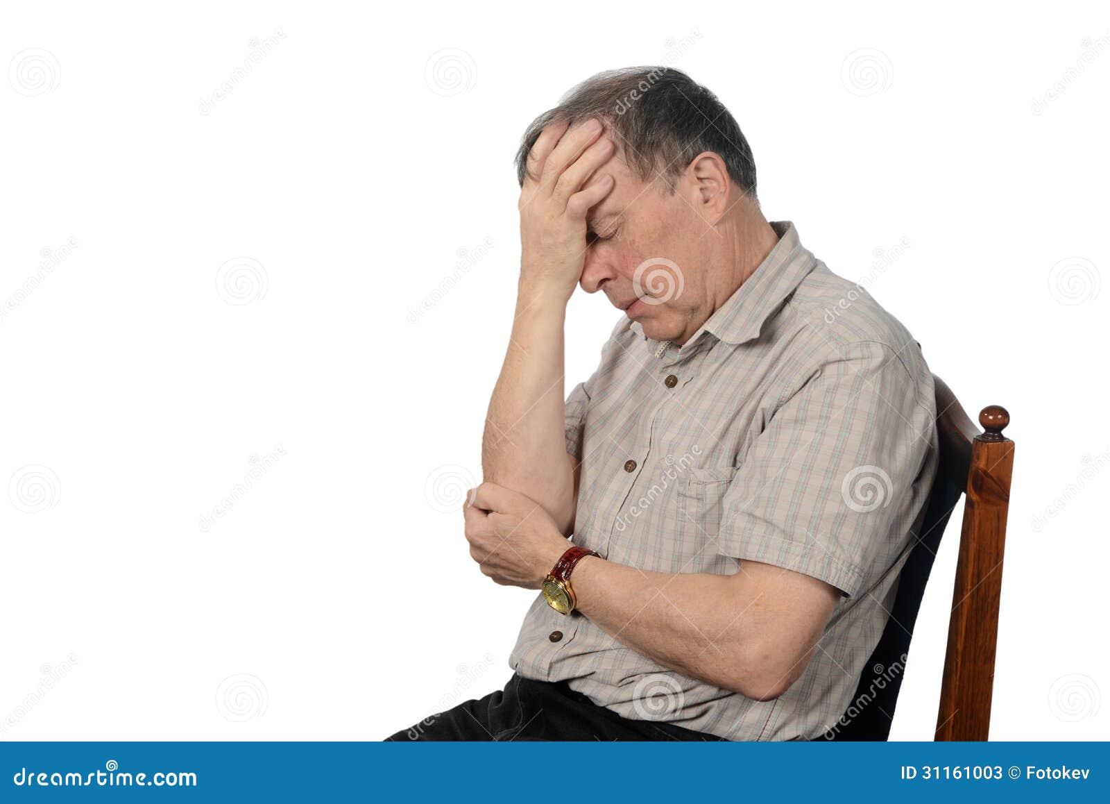 Clipart Depressed Man