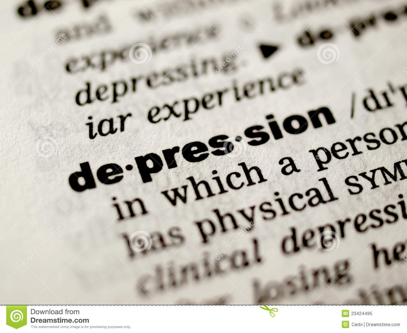 depression definition royalty stock photo image  royalty stock photo depression definition