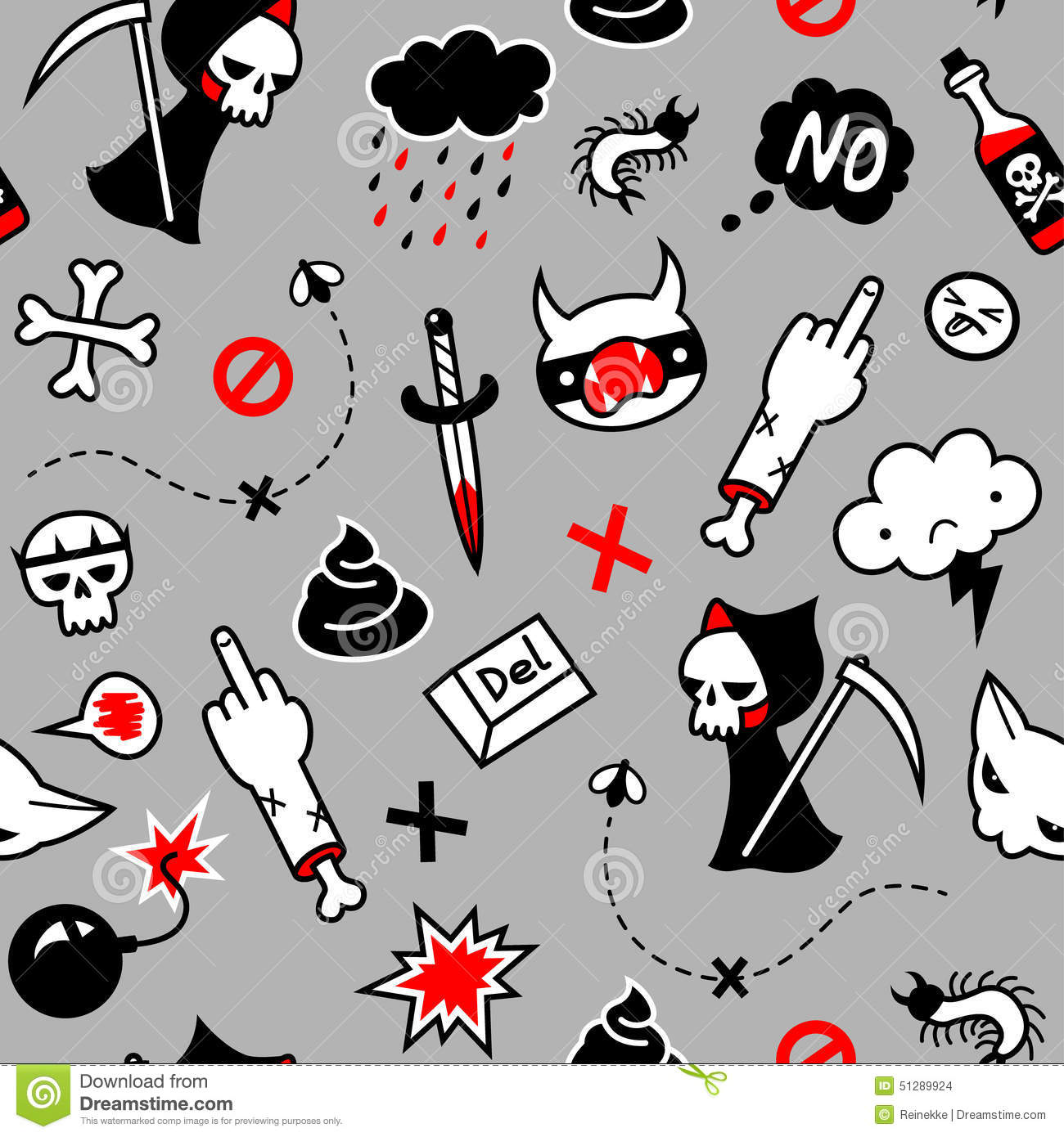Depression Stock Vector Illustration Of Insect Death 51289924