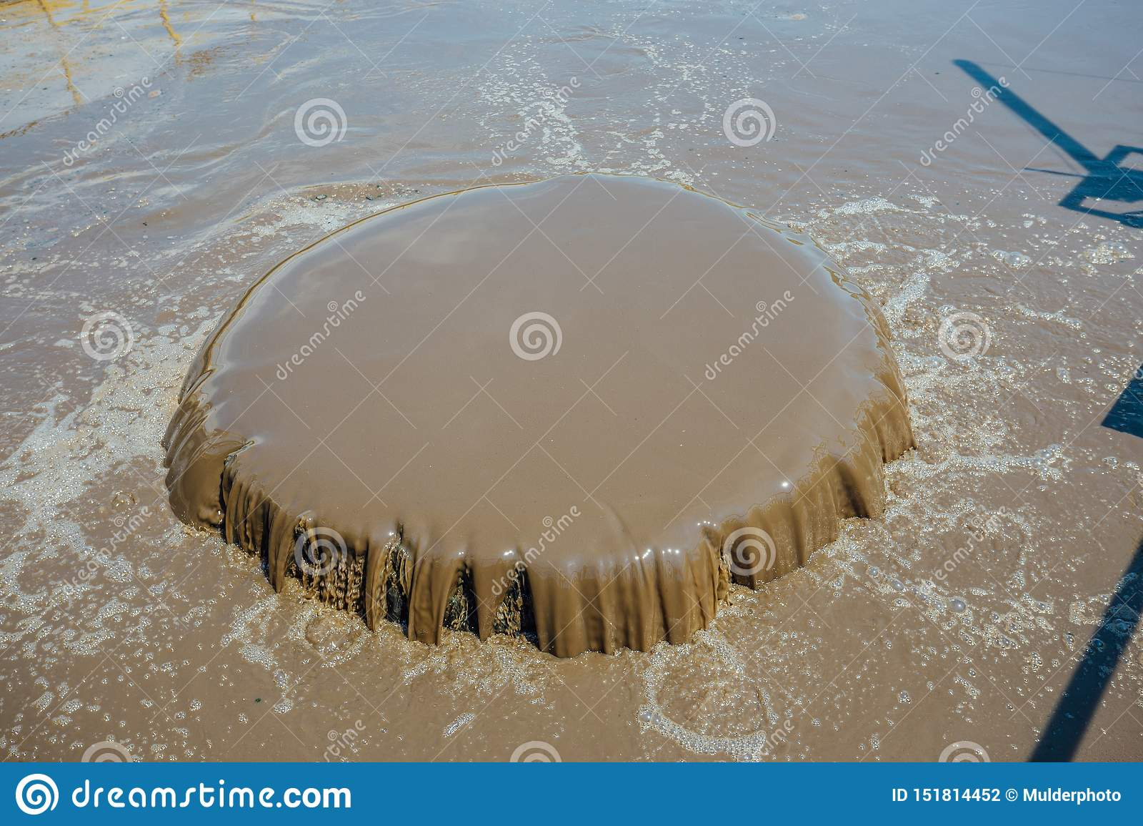 Depuradora de aguas residuales moderna Barro activo que alimenta en los tanques para la aireación y la purificación bacteriana bi