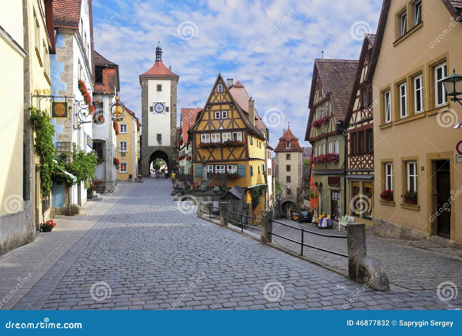 Der德国ob rothenburg tauber