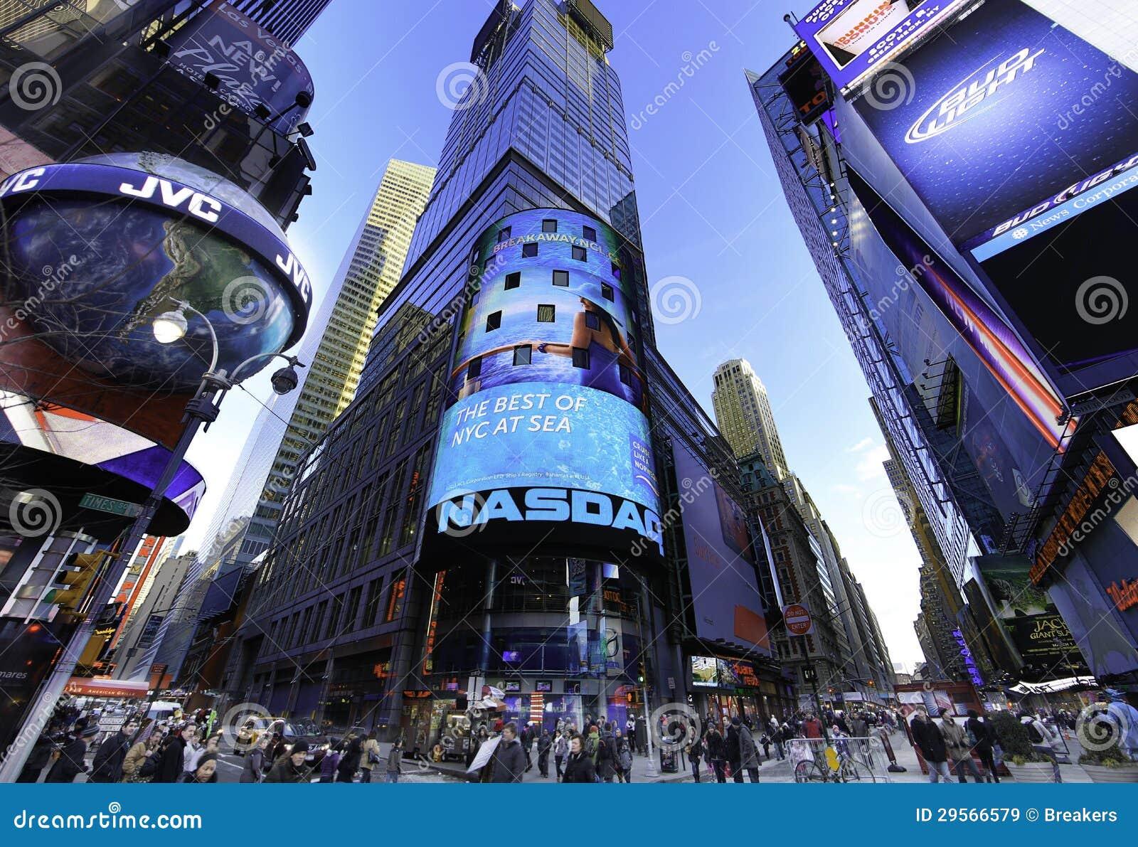 Der Aktienmarkt NASDAQs