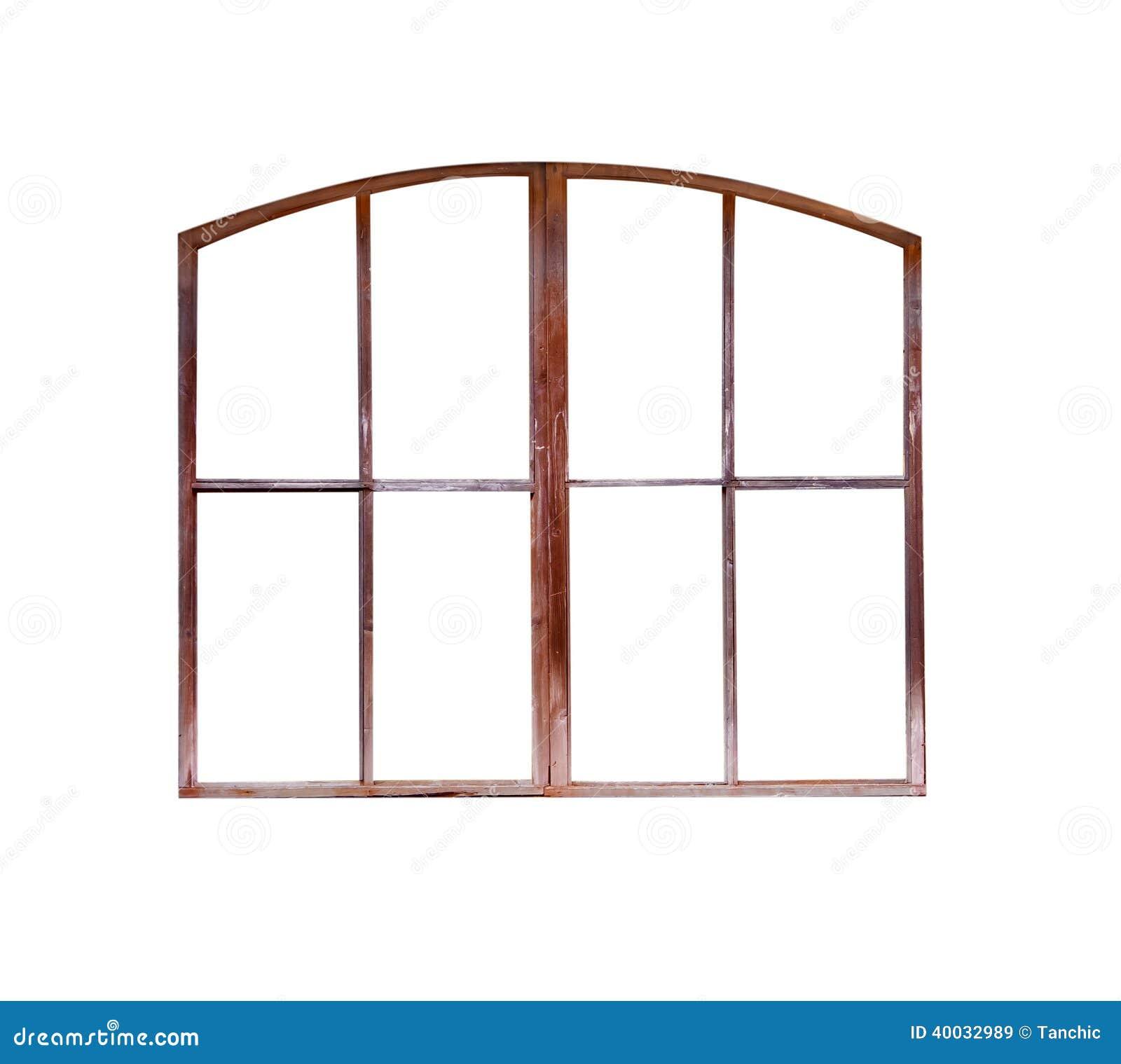 Der Alte Fensterrahmen Lokalisiert Stockbild - Bild von weinlese ...