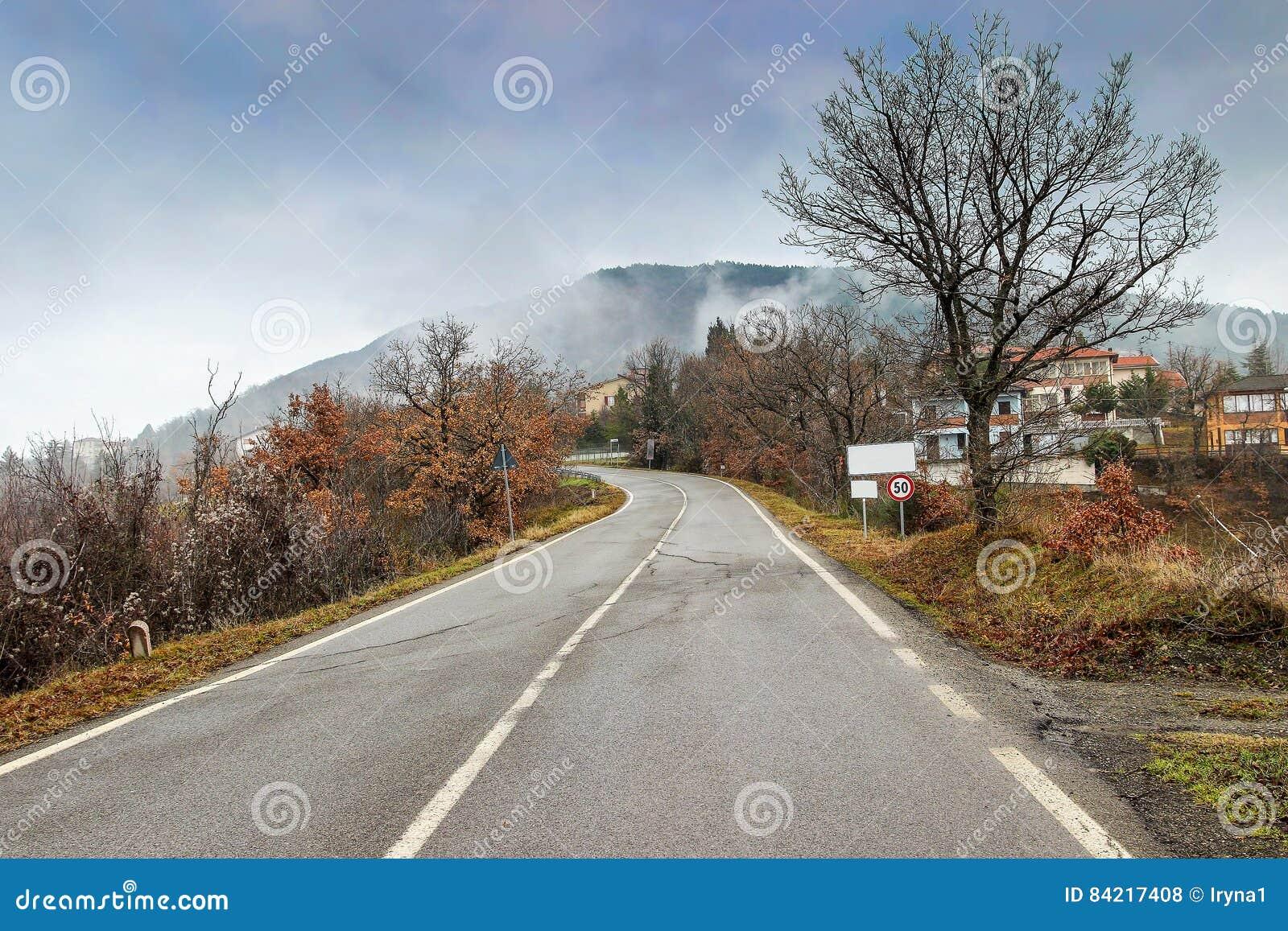 Der Apennines, Italien