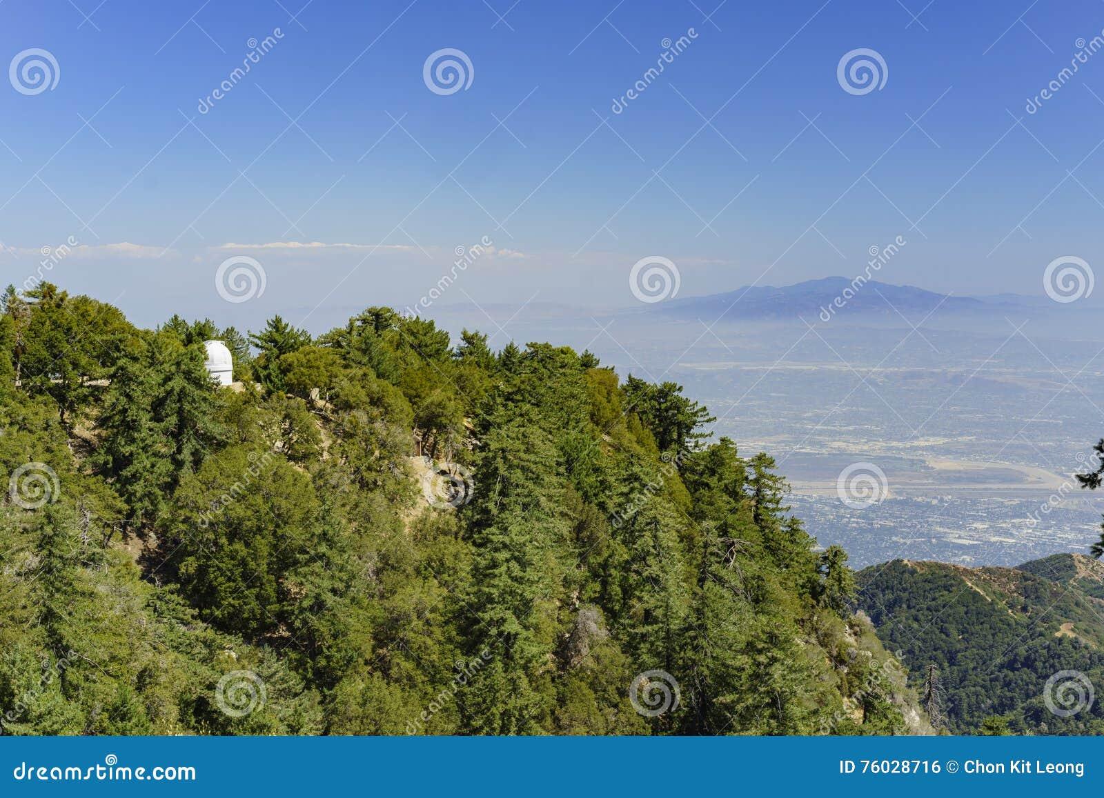 Der berühmte Berg Wilson Observatory