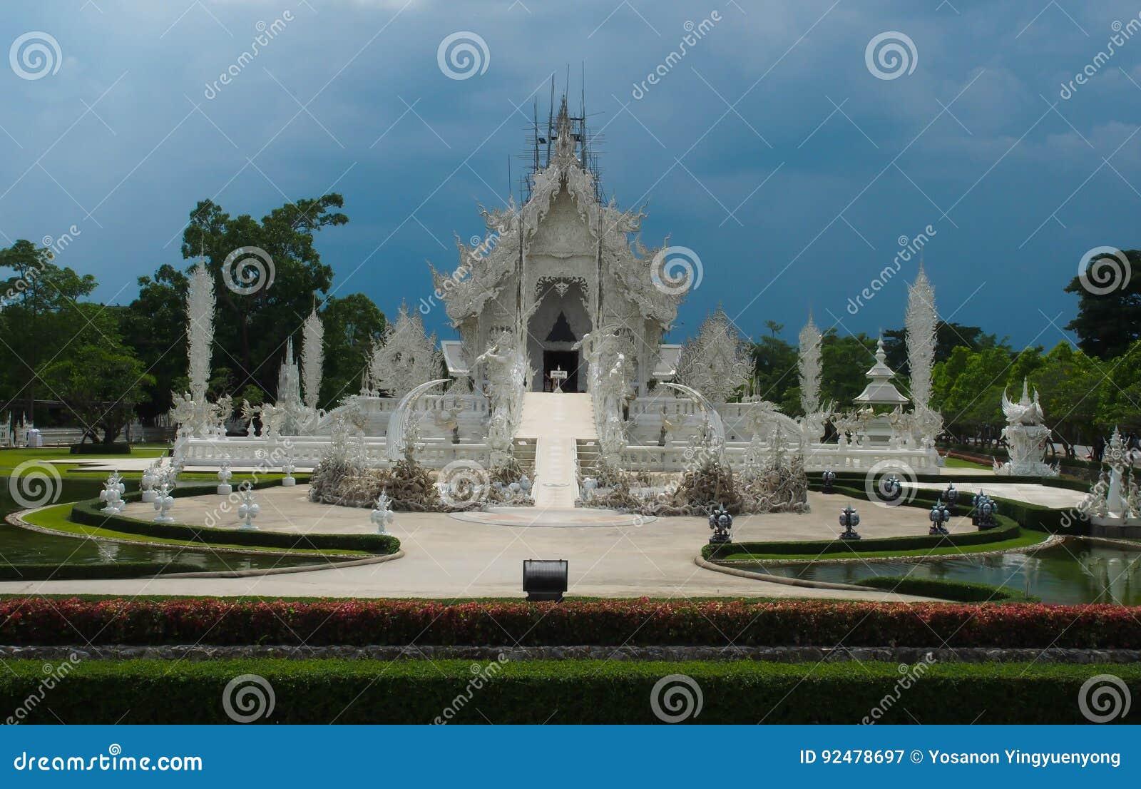 Der berühmte thailändische Tempel in Chaingrai, Rong Khun