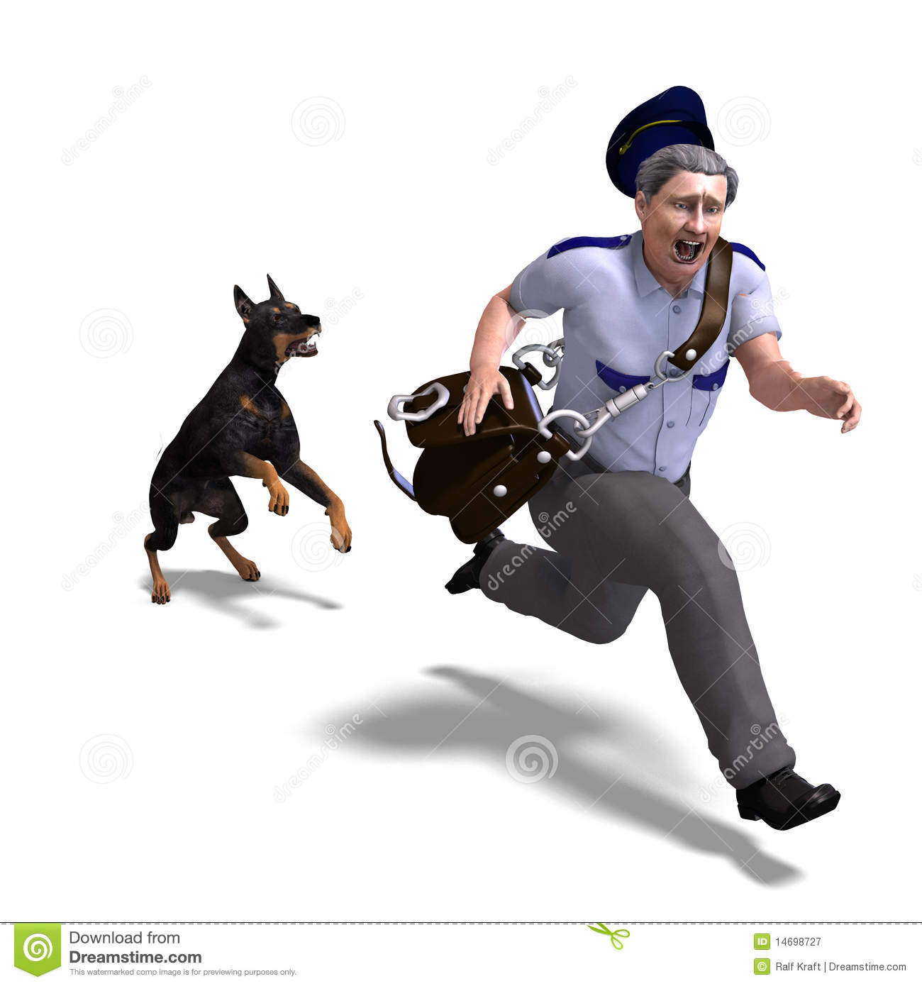 Getting Chased By A Dog