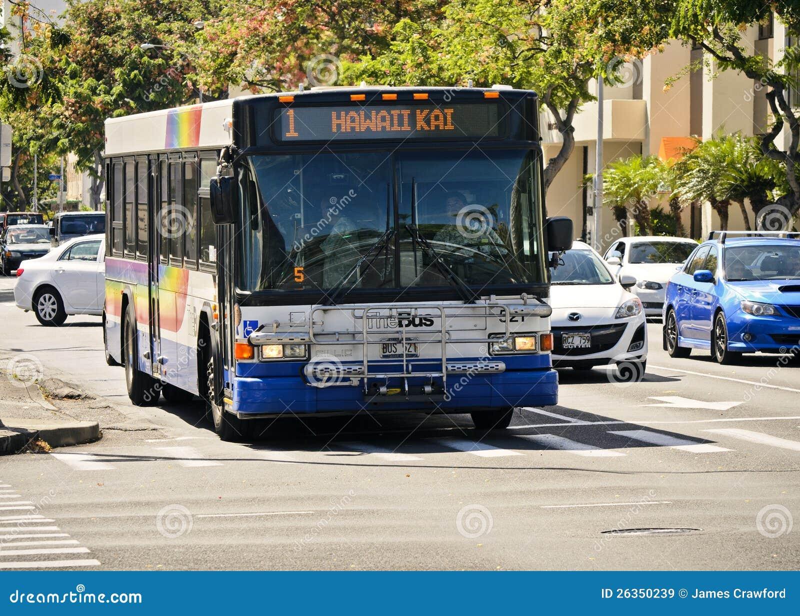Der Bus in Hawaii