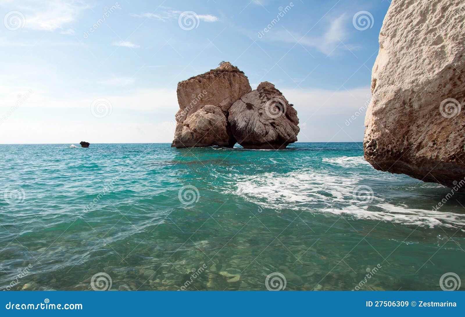 Der Felsen der Aphrodite