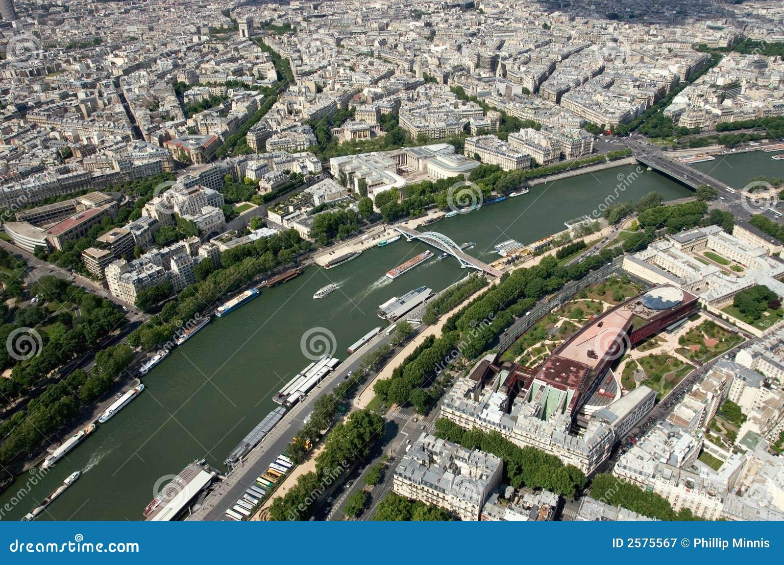 Der Fluss Seine - Paris