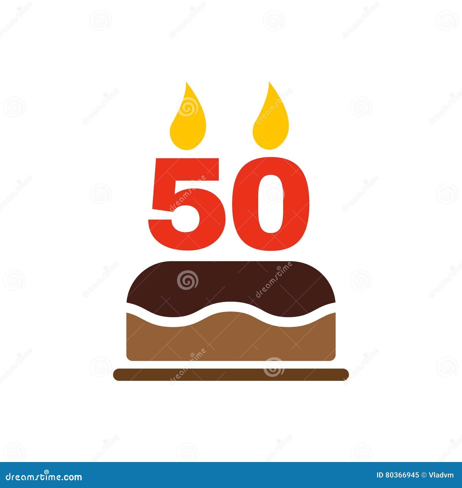 Geburtstagskuchen 50 Kerzwn Bild Kuchen Bild Idee