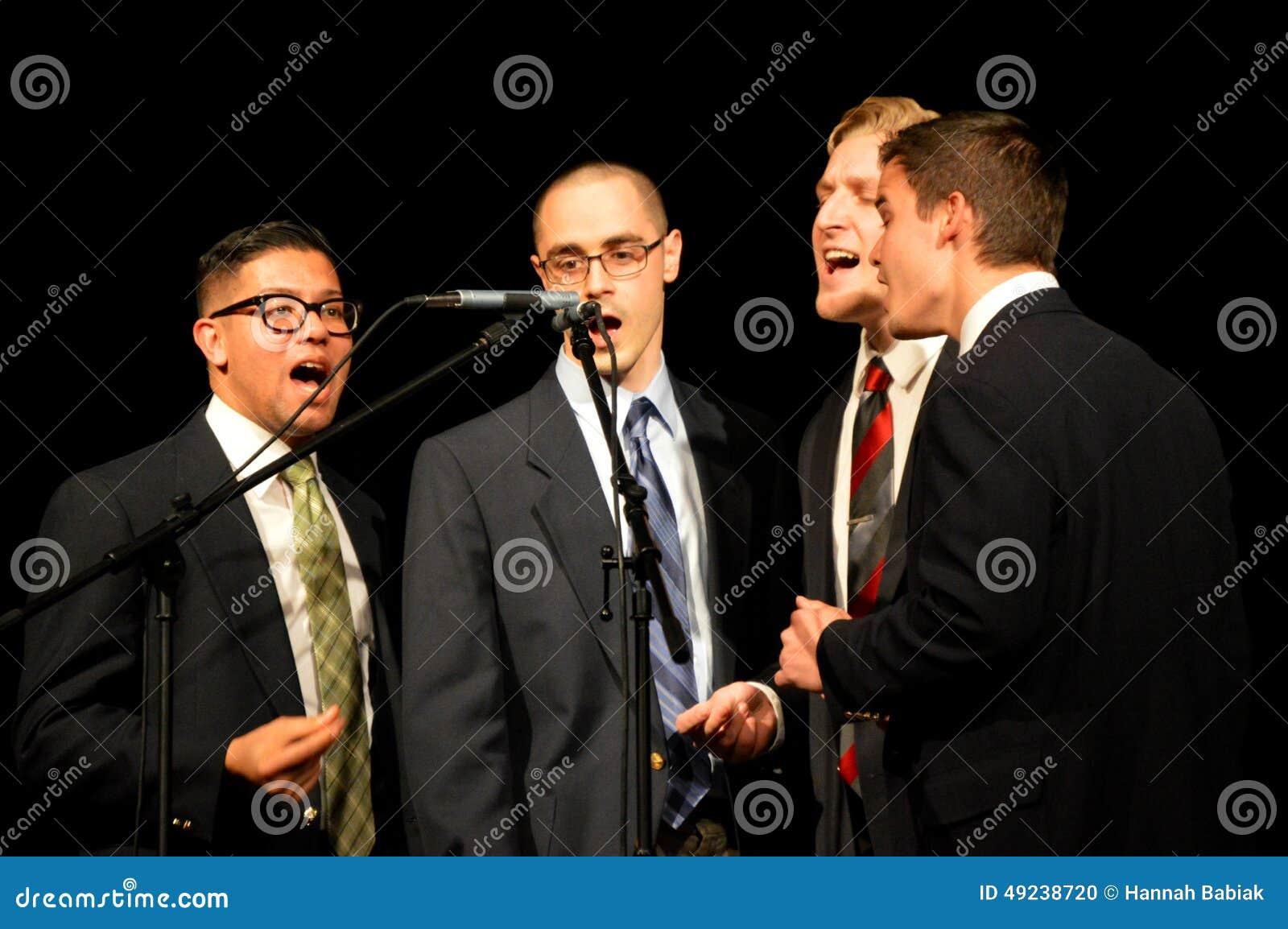 Der Gesang-Quartett der Männer