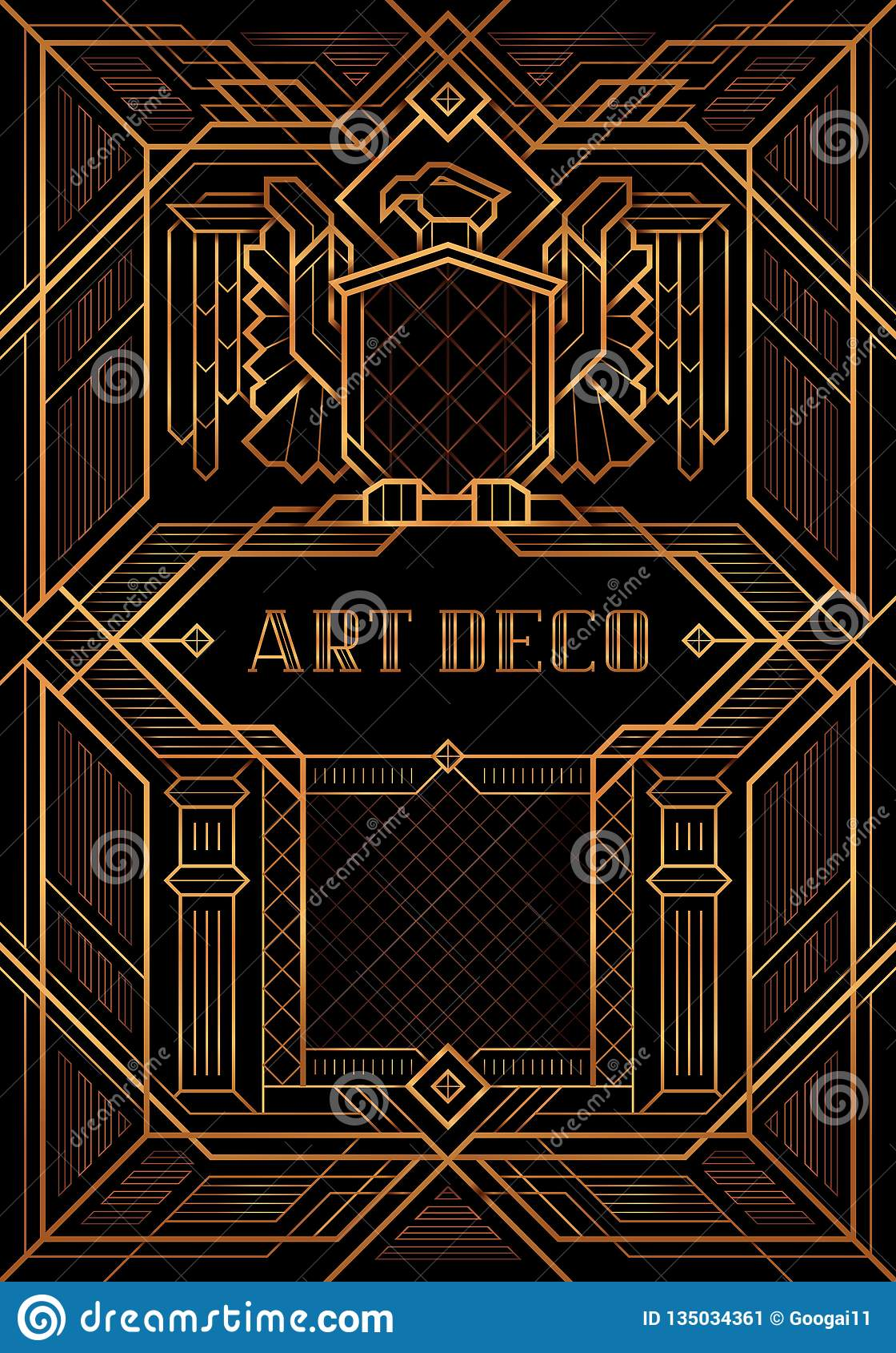 Der große Artvektor Gatsby Deco
