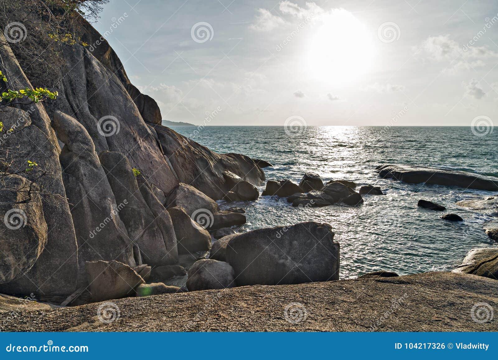 Der großväterliche Felsen, eine Penis