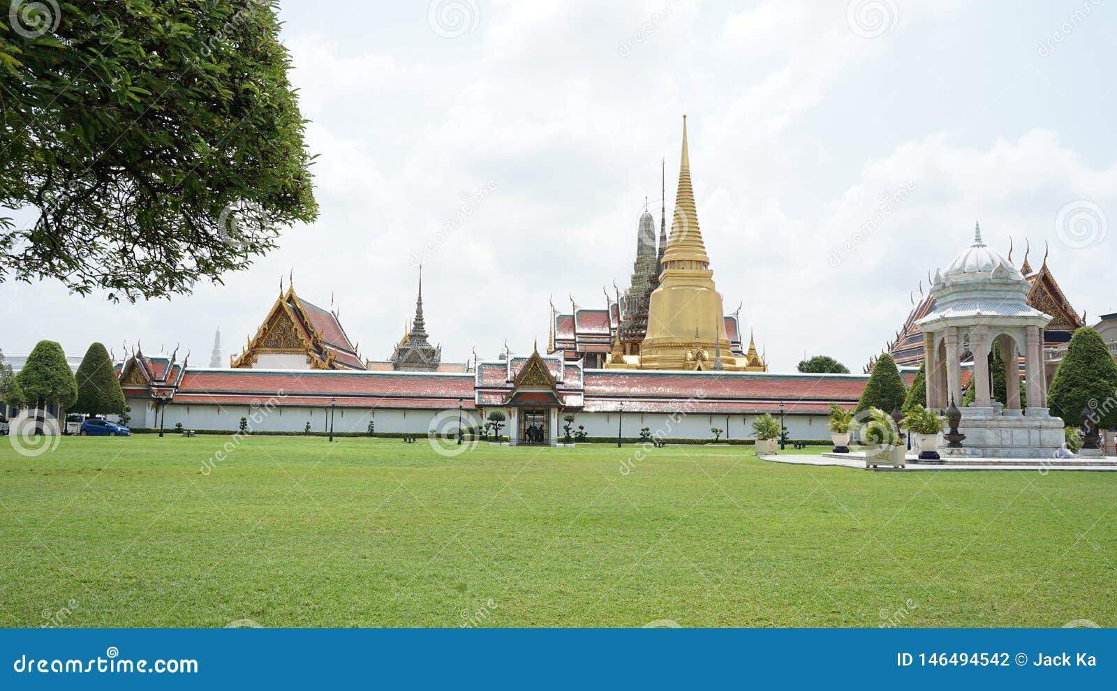 Der gro?artige Palast in Bangkok