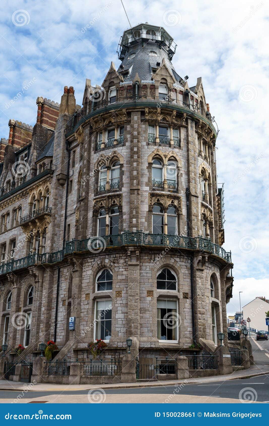 Der Herzog von Cornwall-Hotel, Plymouth, Devon, Vereinigtes Königreich, am 20. August 2018