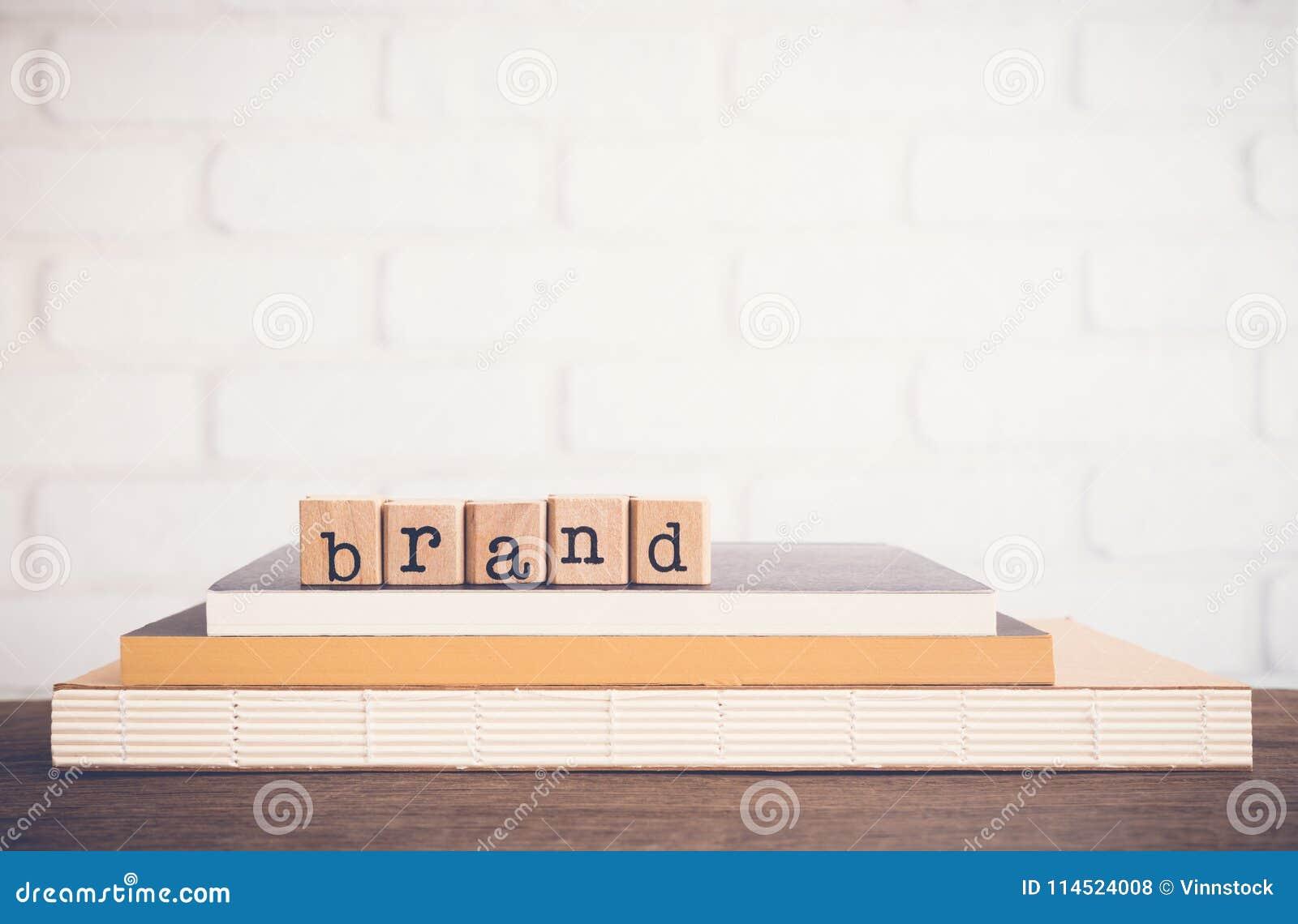 Der Hintergrund Wort Marke und der Leerstelle