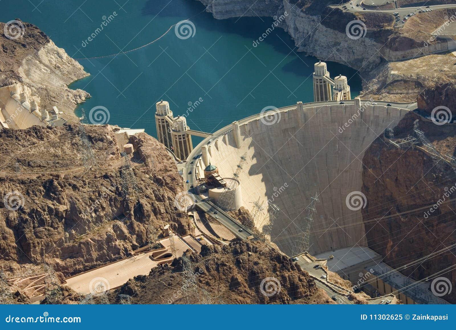 Der Hooverdamms-und See-Met