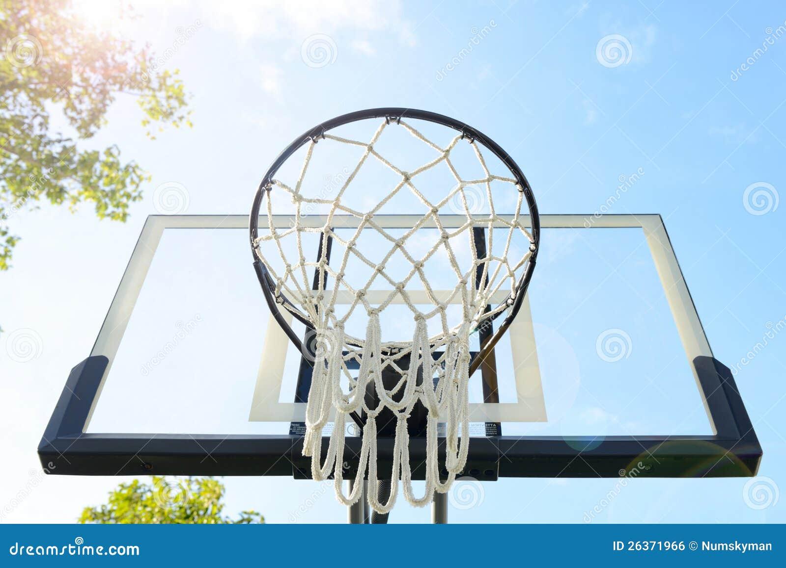 Der im Freienbasketball