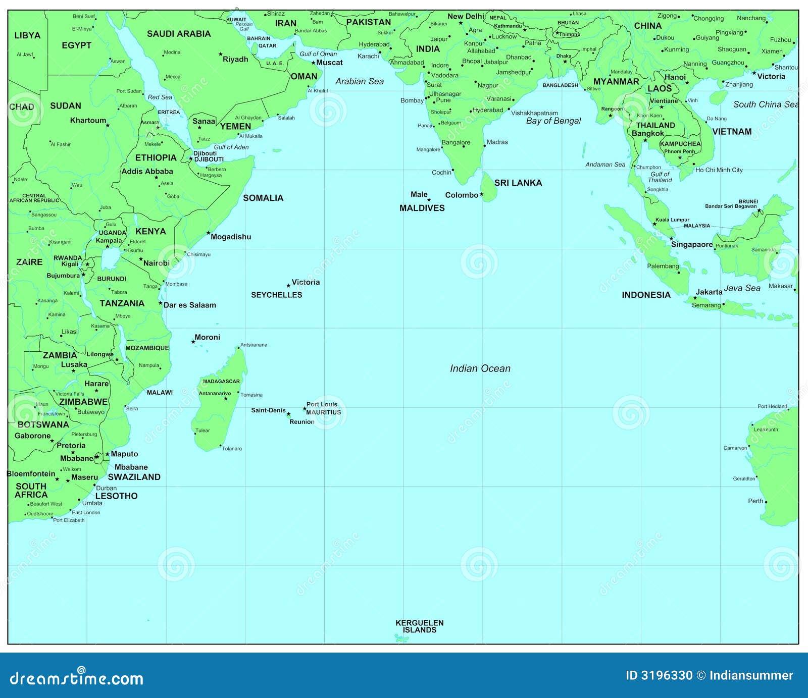 Der indische ozean stockfoto bild 3196330 for Indische sonnenschirme
