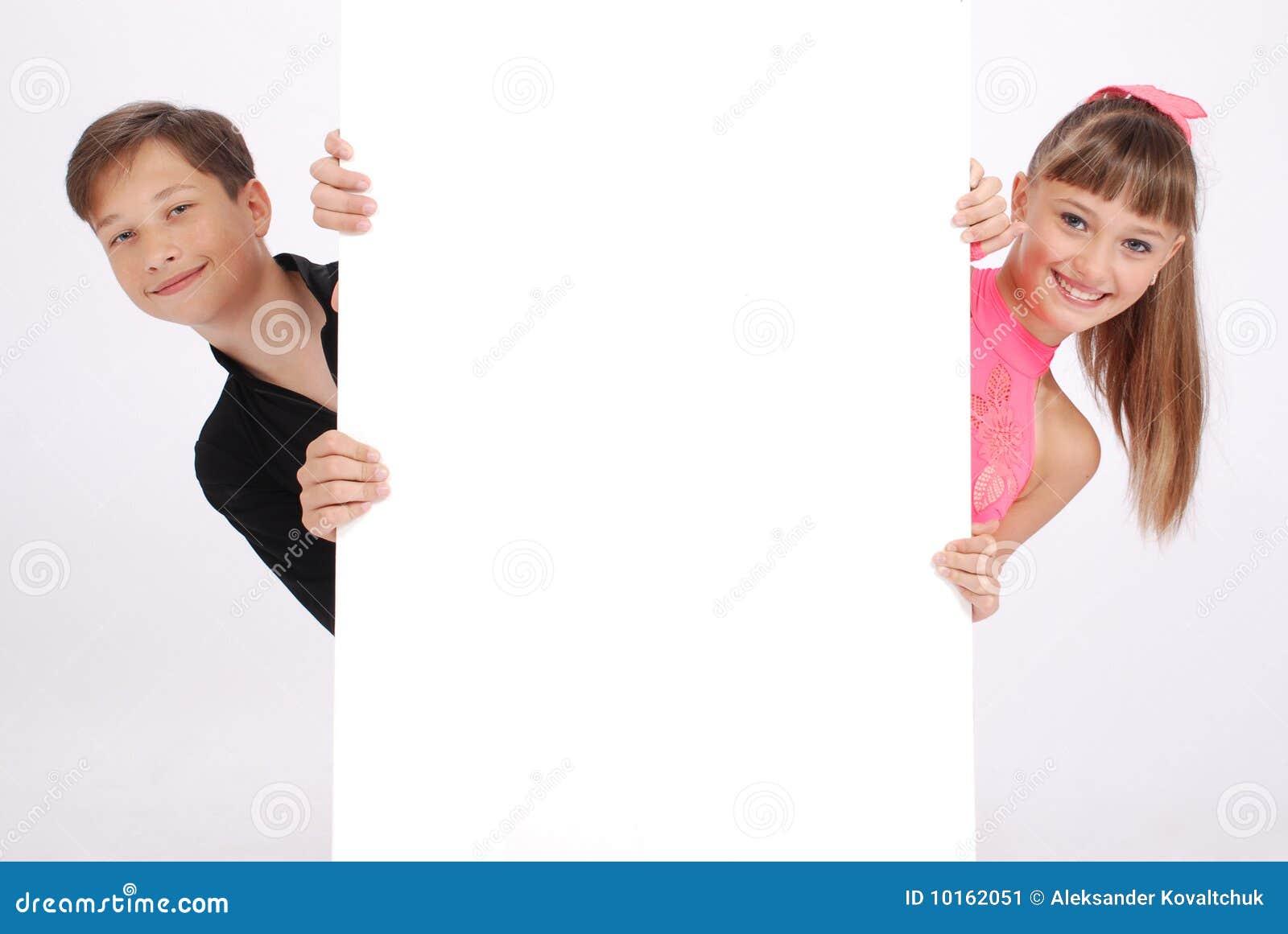 Der Junge und der Mädchenblick