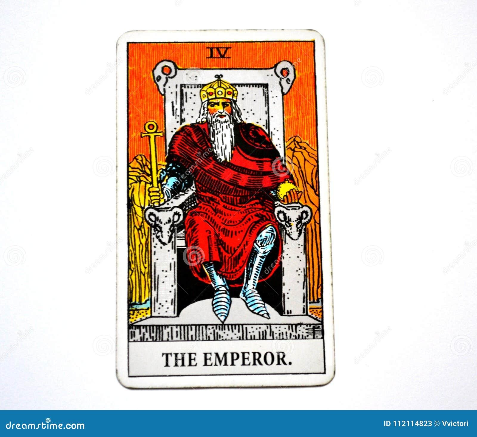 Der Kaiser-Tarock-Karten-Macht-Führer Ruler King Boss
