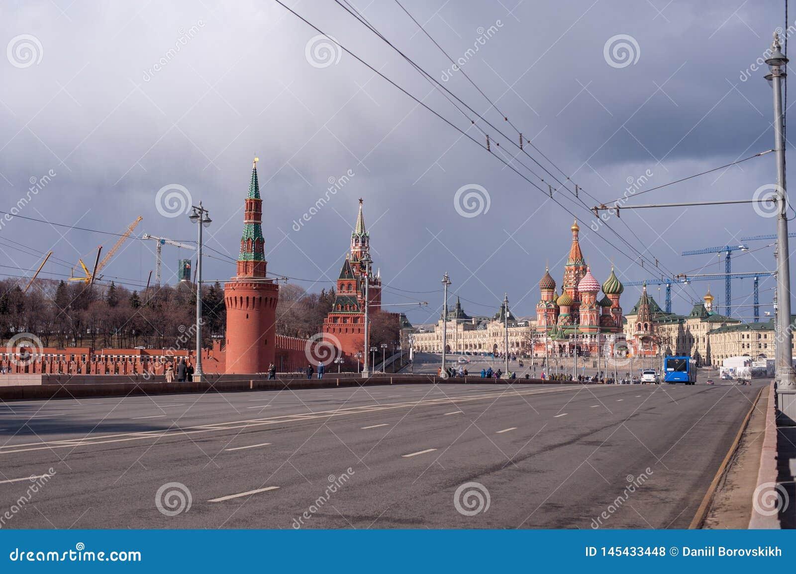 Der Kreml-Wandansicht