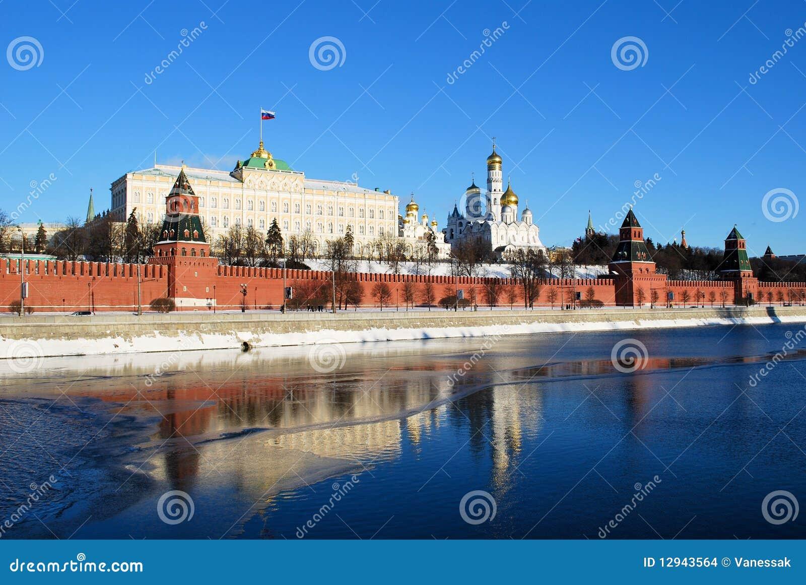 Der Kremlin in Moskau