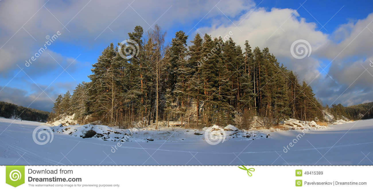 Download Der Ladogasee, Karelien, Russland Stockbild - Bild von felsen, skerries: 49415389