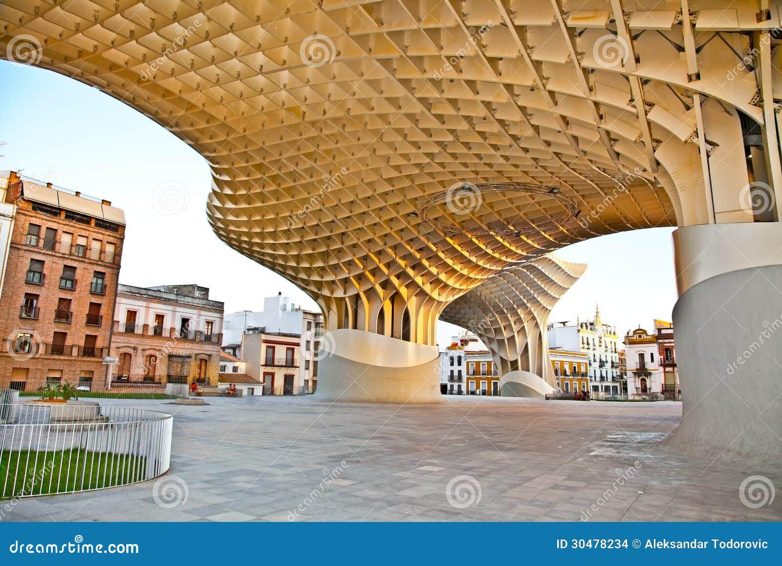 Der Metropol-Sonnenschirm in Plaza de la Encarnacion in Sevilla