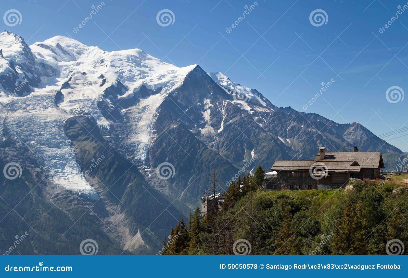 Der Montblanc von Brevent