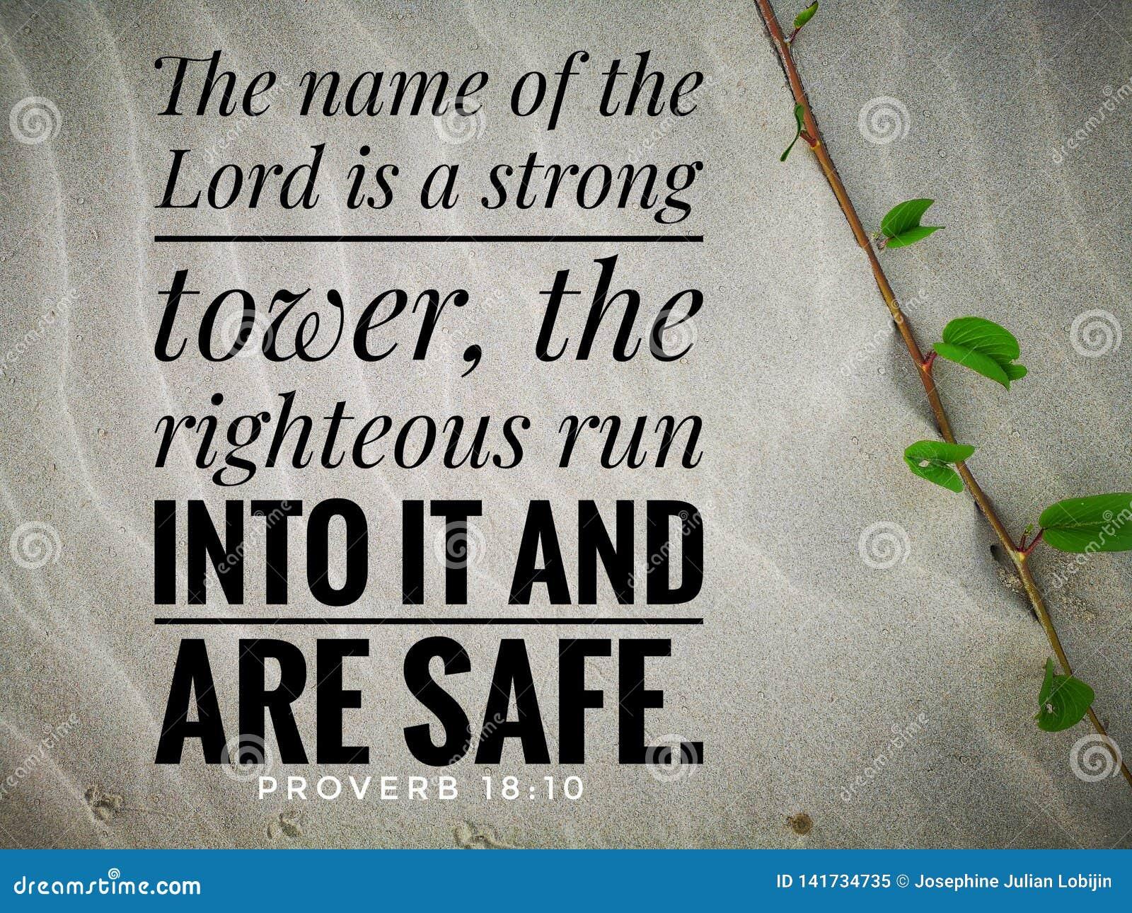 Der Name von Lord ist vom Bibelversentwurf für Christentum ein starkes