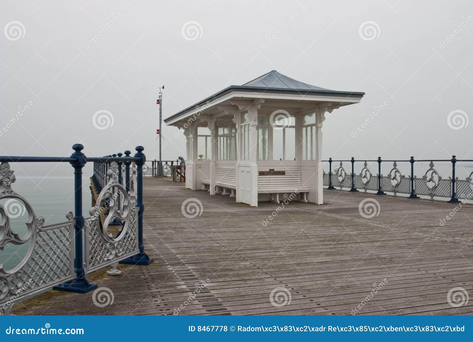 Der Pier in Swanage