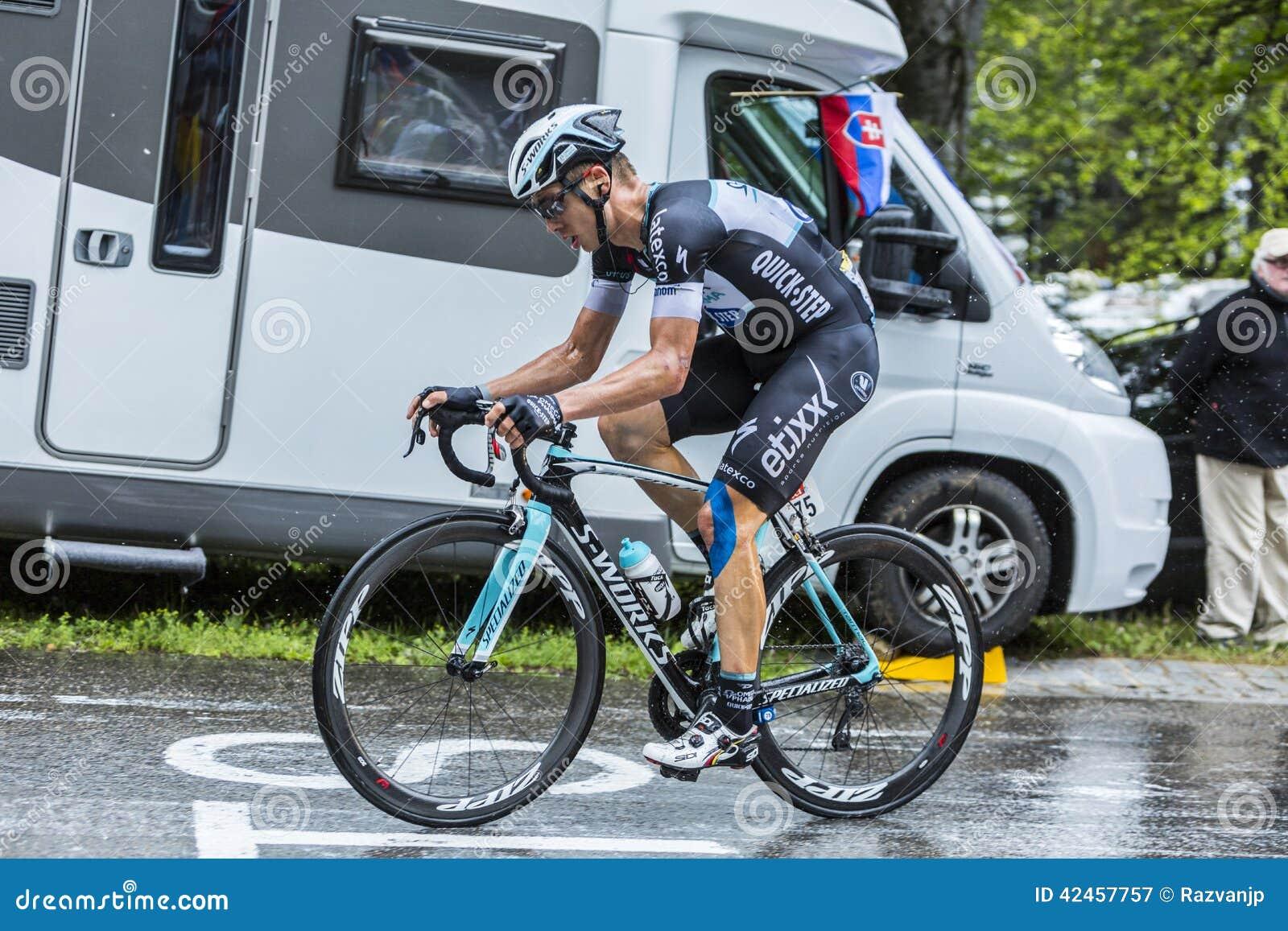 Der Radfahrer Tony Martin