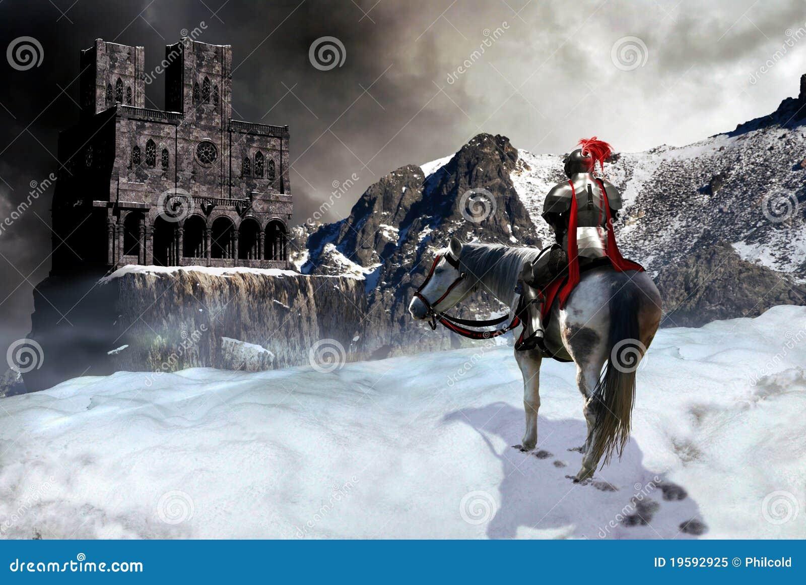 Der Ritter und das Schloss