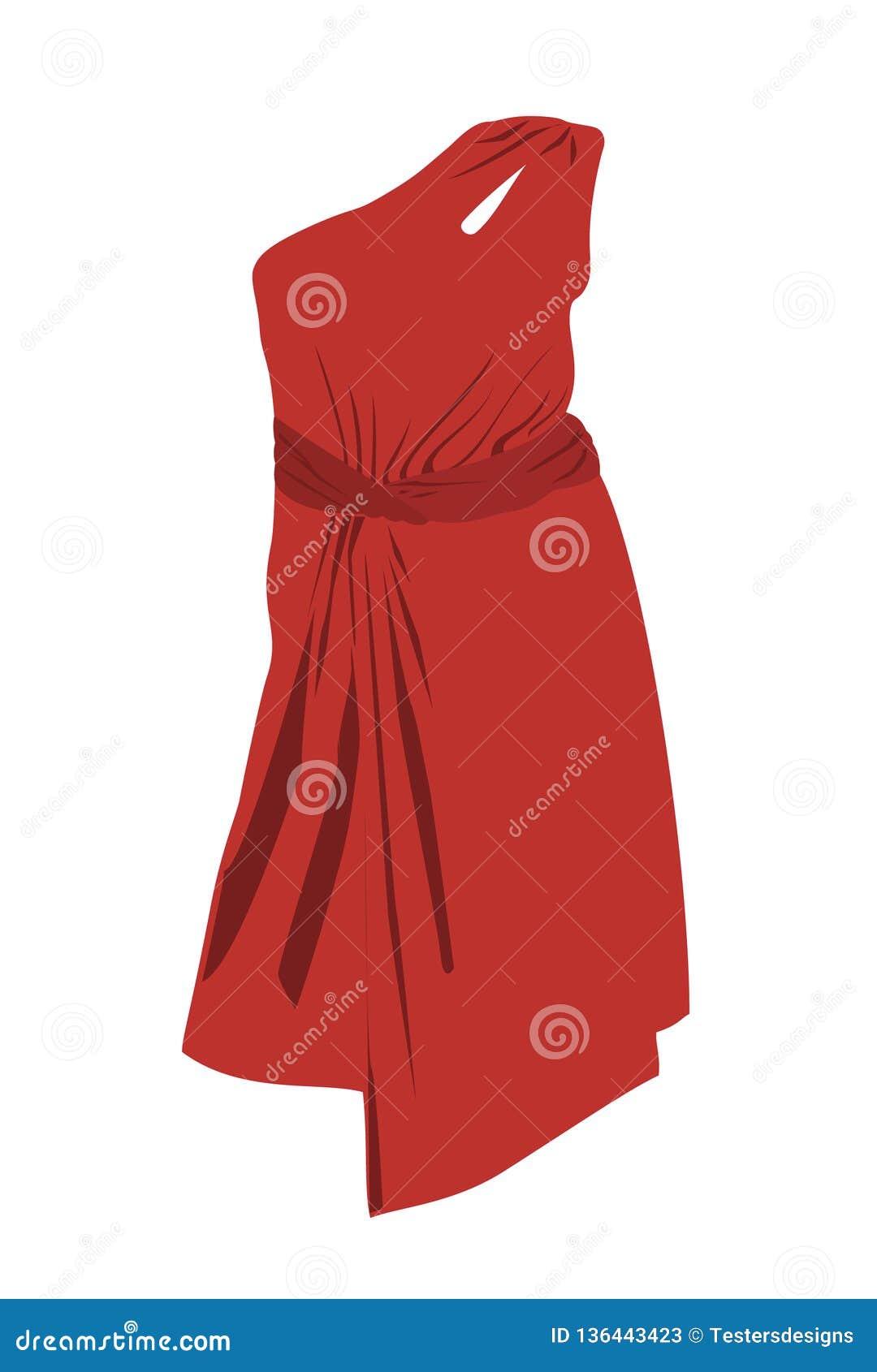 Der schöne rote Kittel