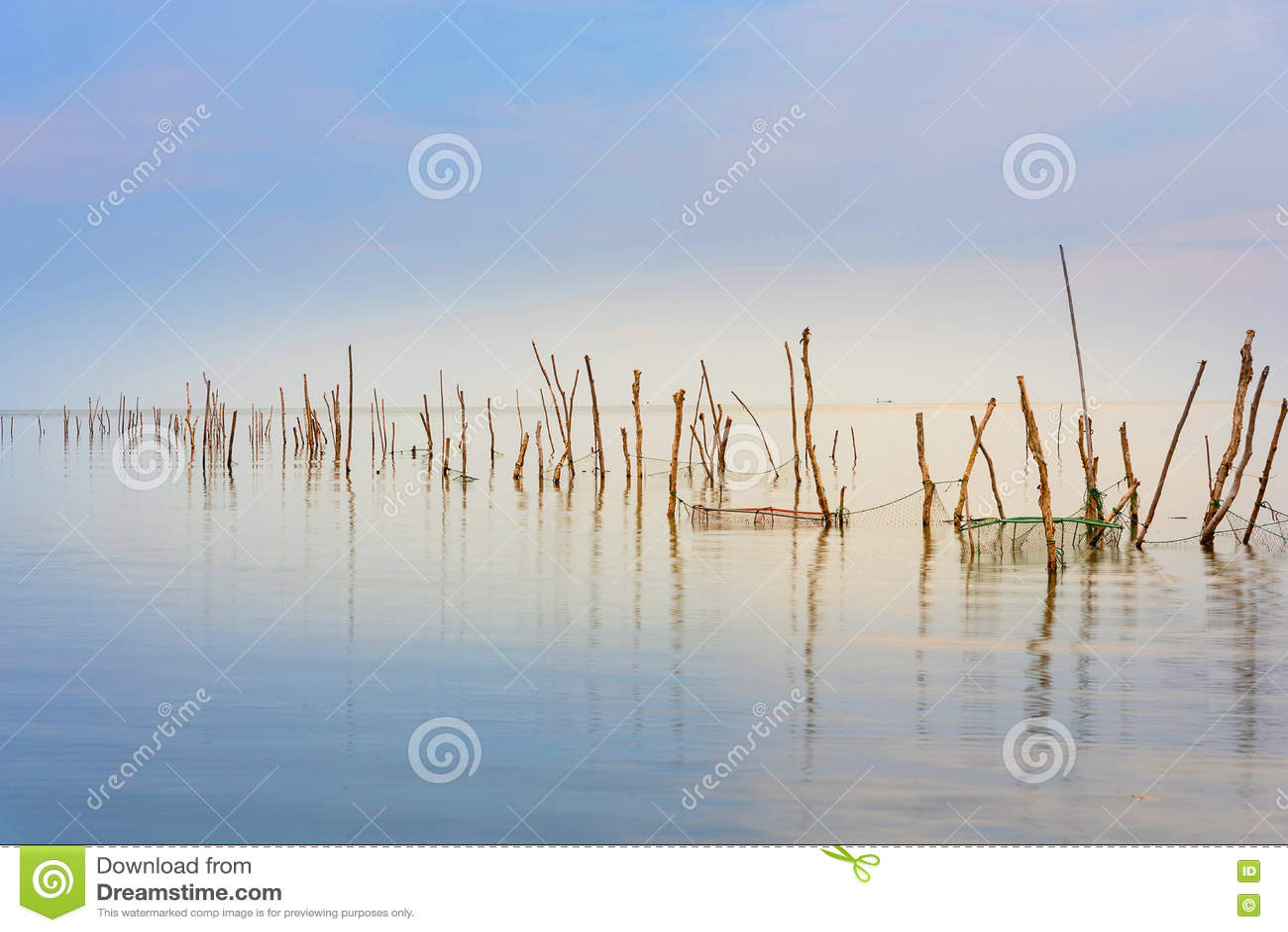 Der See ist leer