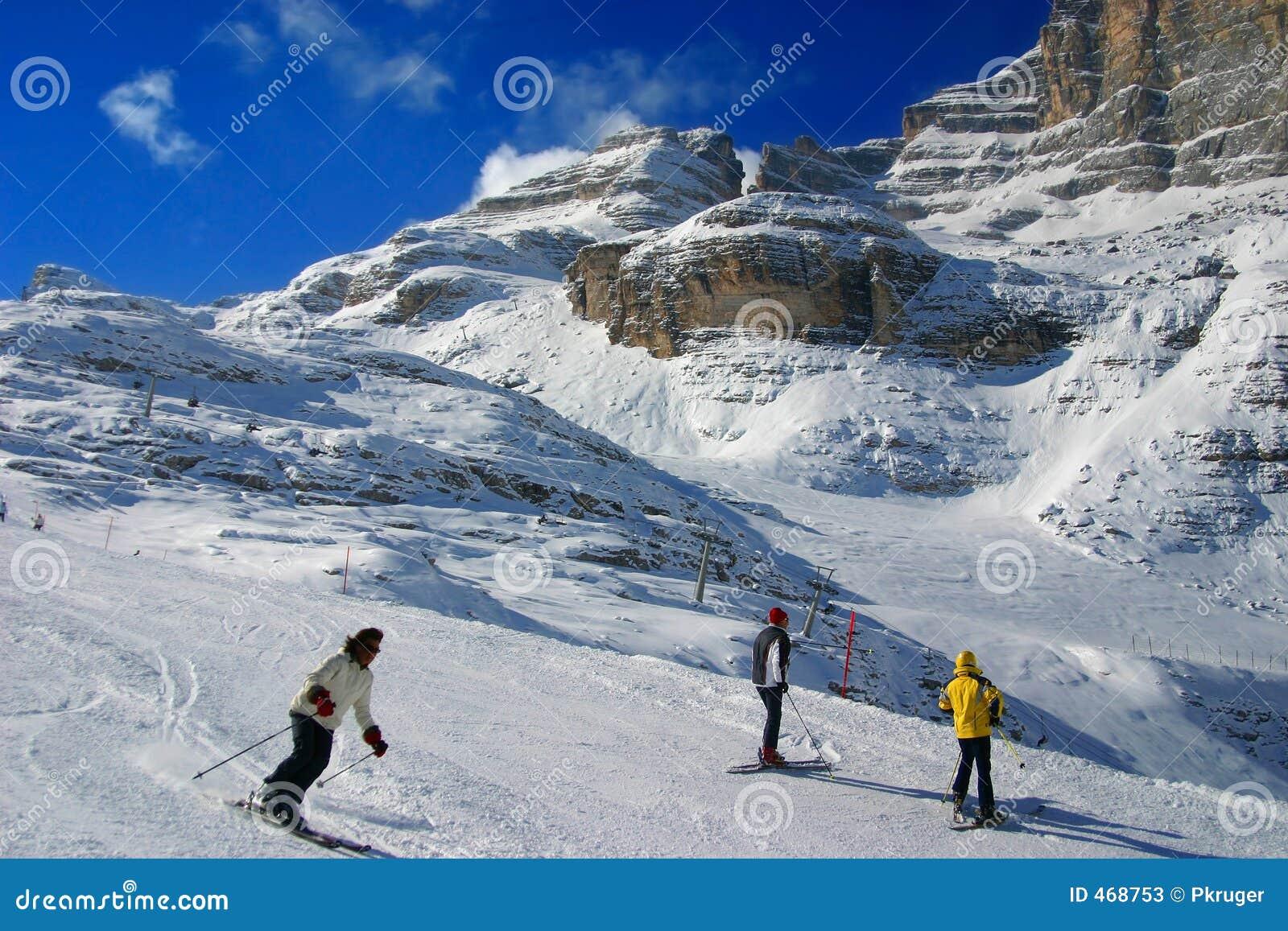 Der Skibereich