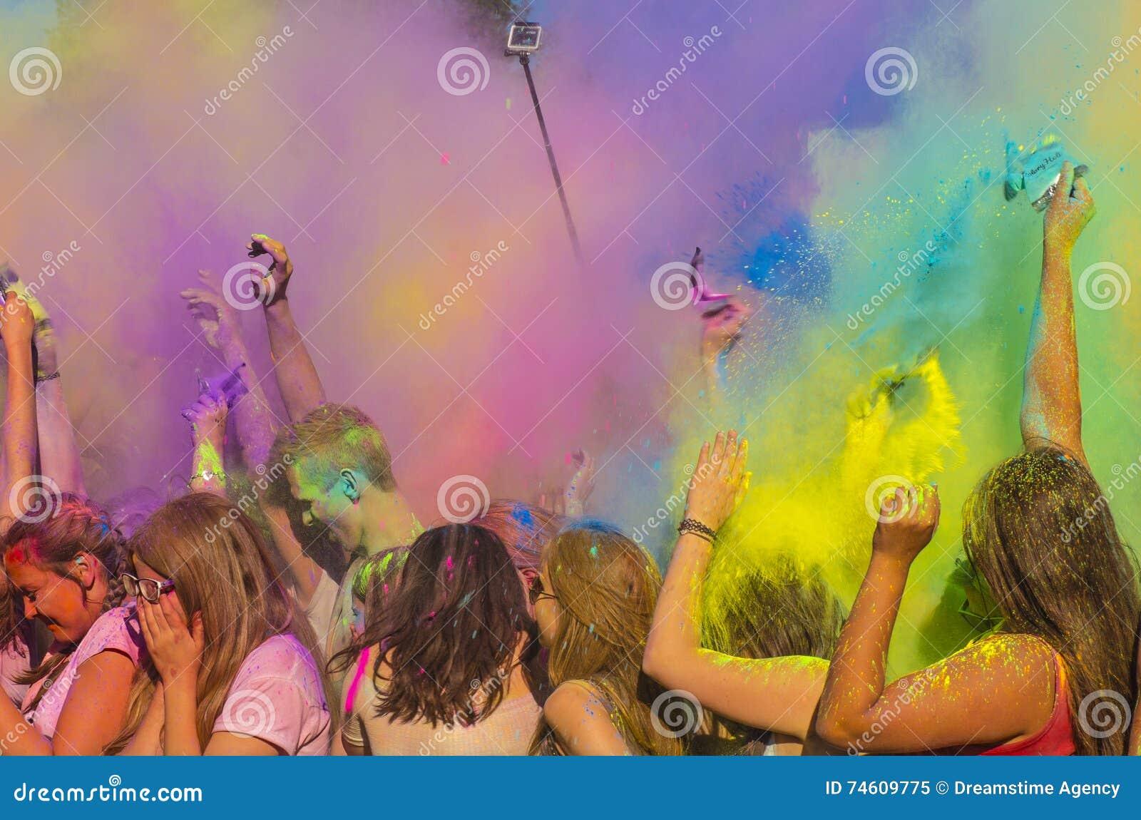 Der Spaß von Farben