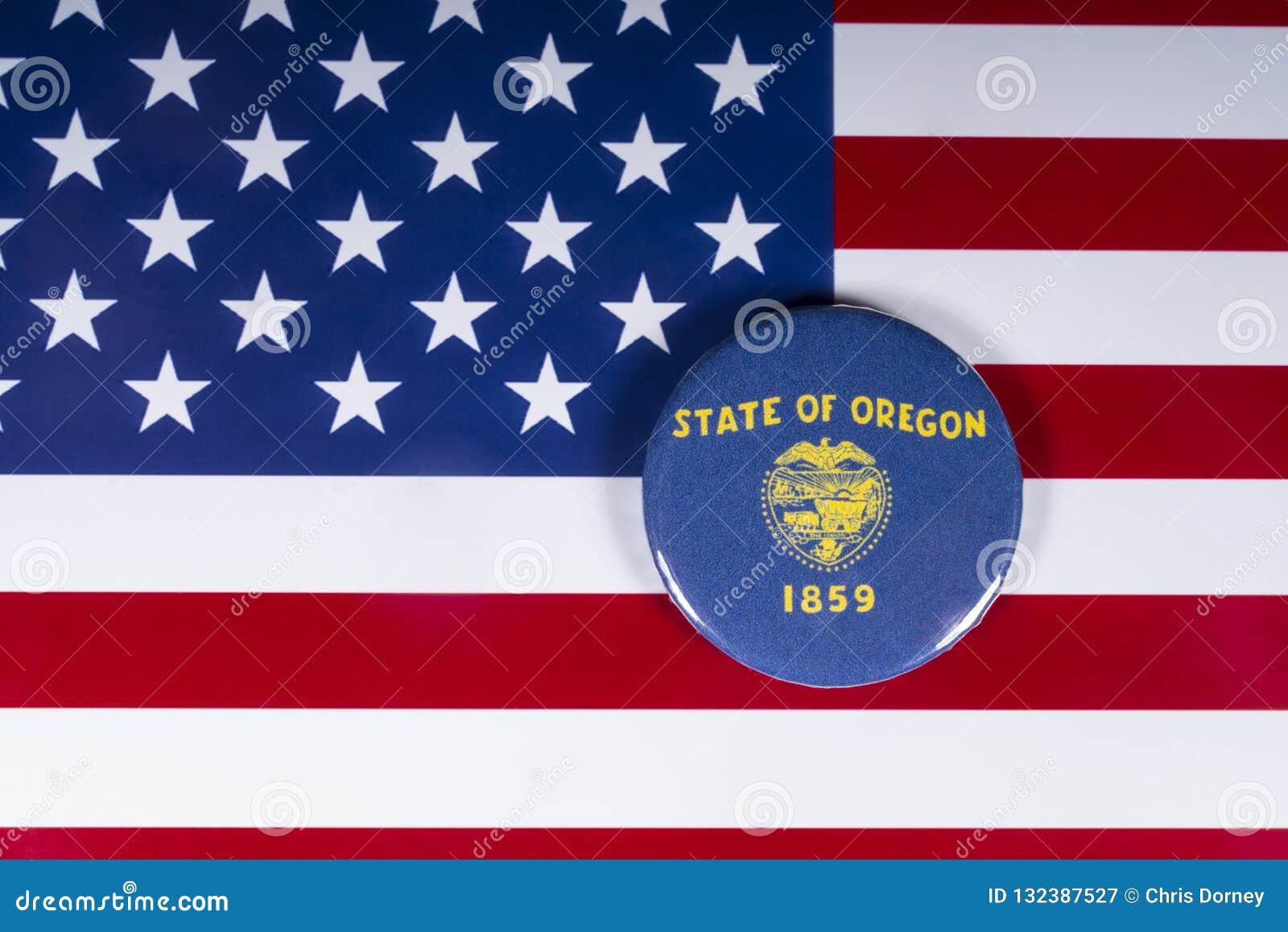 Der Staat Oregon in den USA