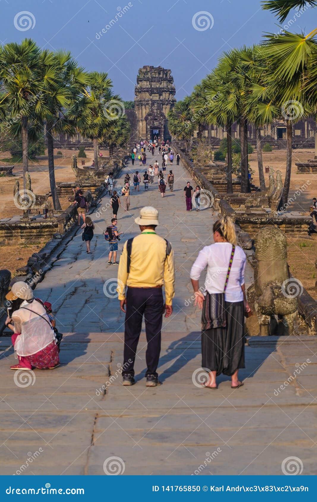 Der Tempel Angkor Wat Cambodia