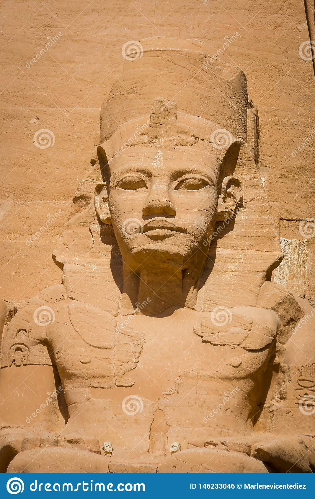 Der Tempel von Ramses II