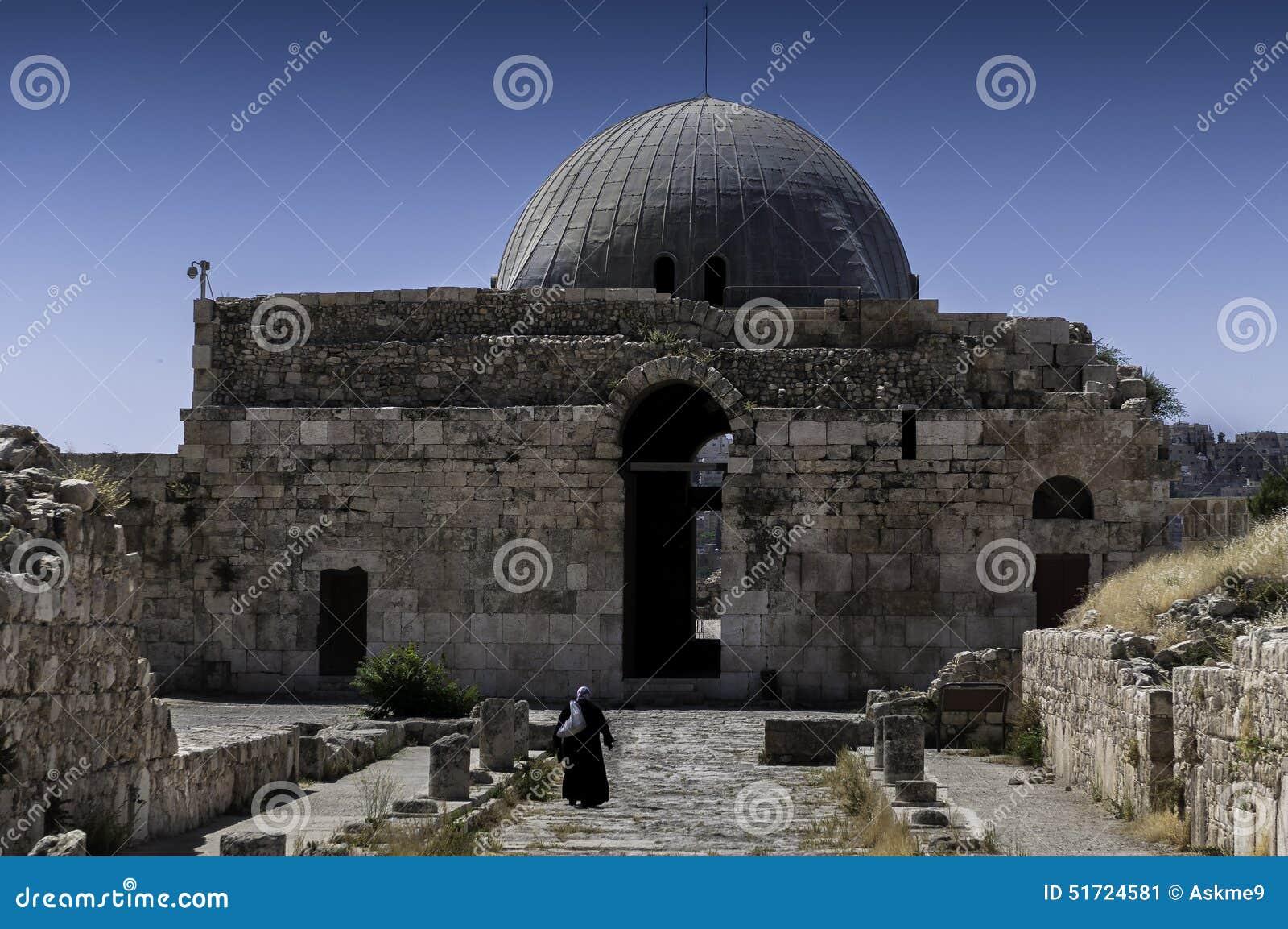 Der Umayyad-Palast in Amman, Jordanien
