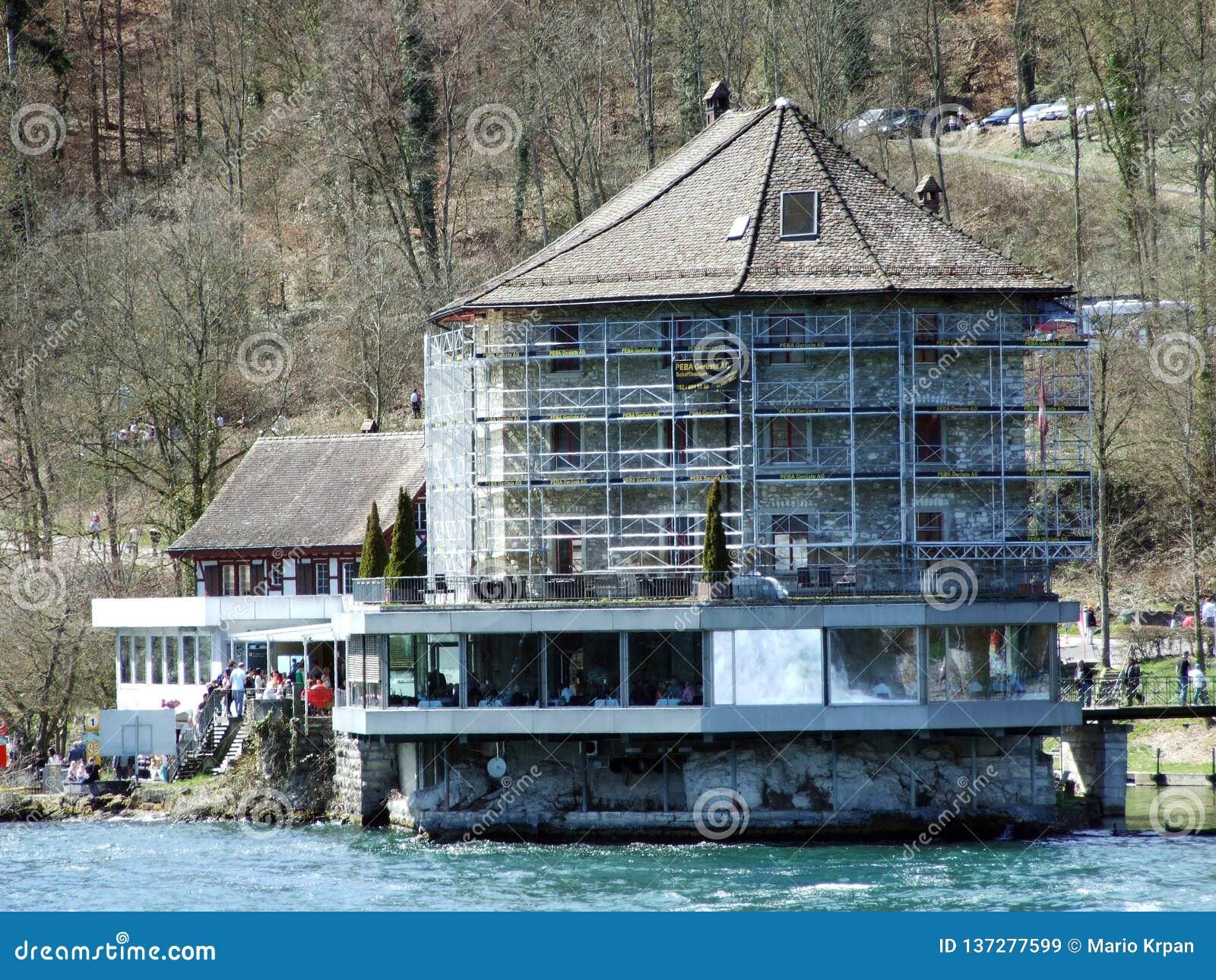 Der Wert Schloss-oder Schlossli-Wert oder Schlosschen-Wert, Neuhausen sind Rheinfall
