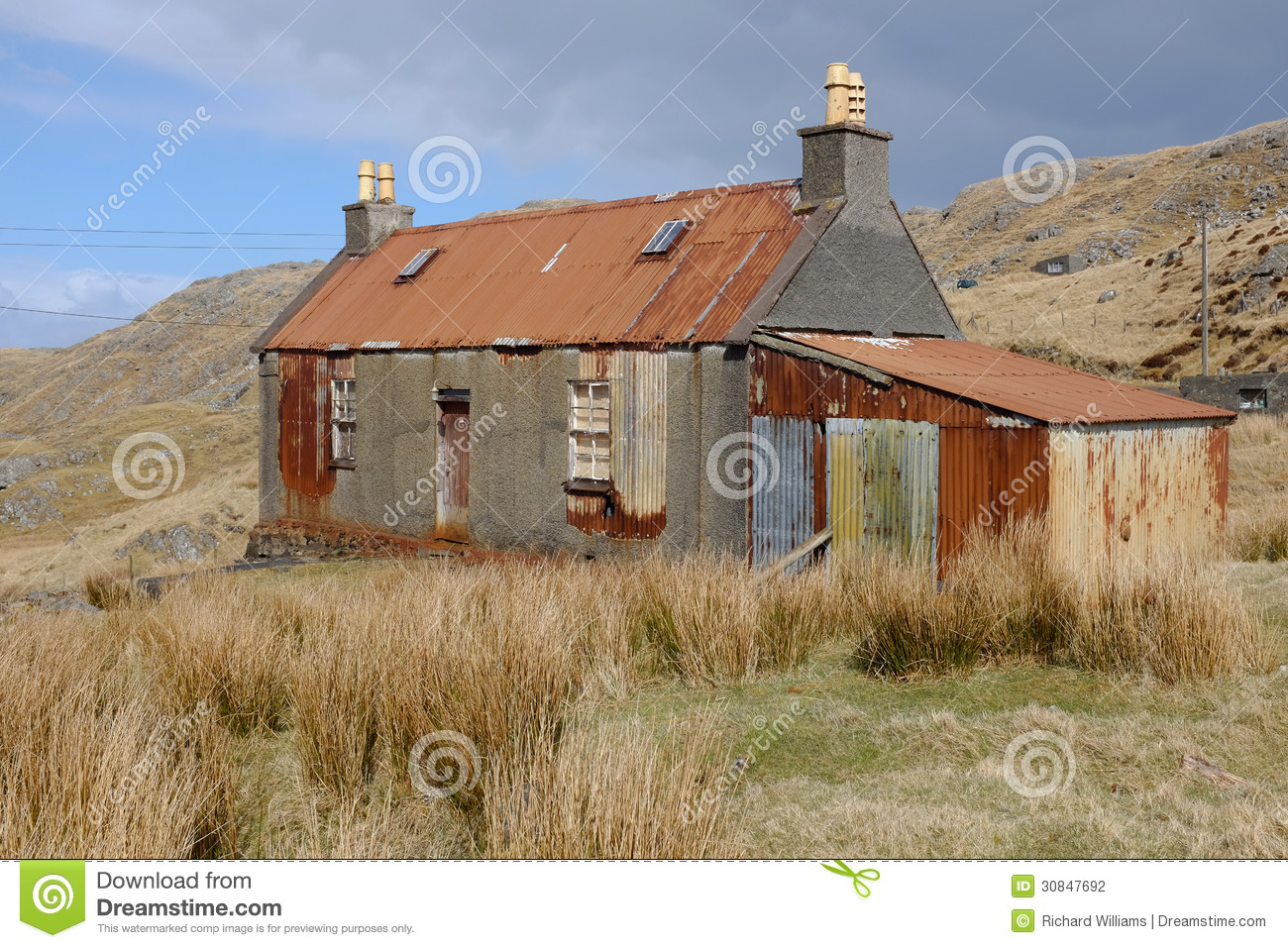 Derelict Building. Stock Photography - Image: 30847692