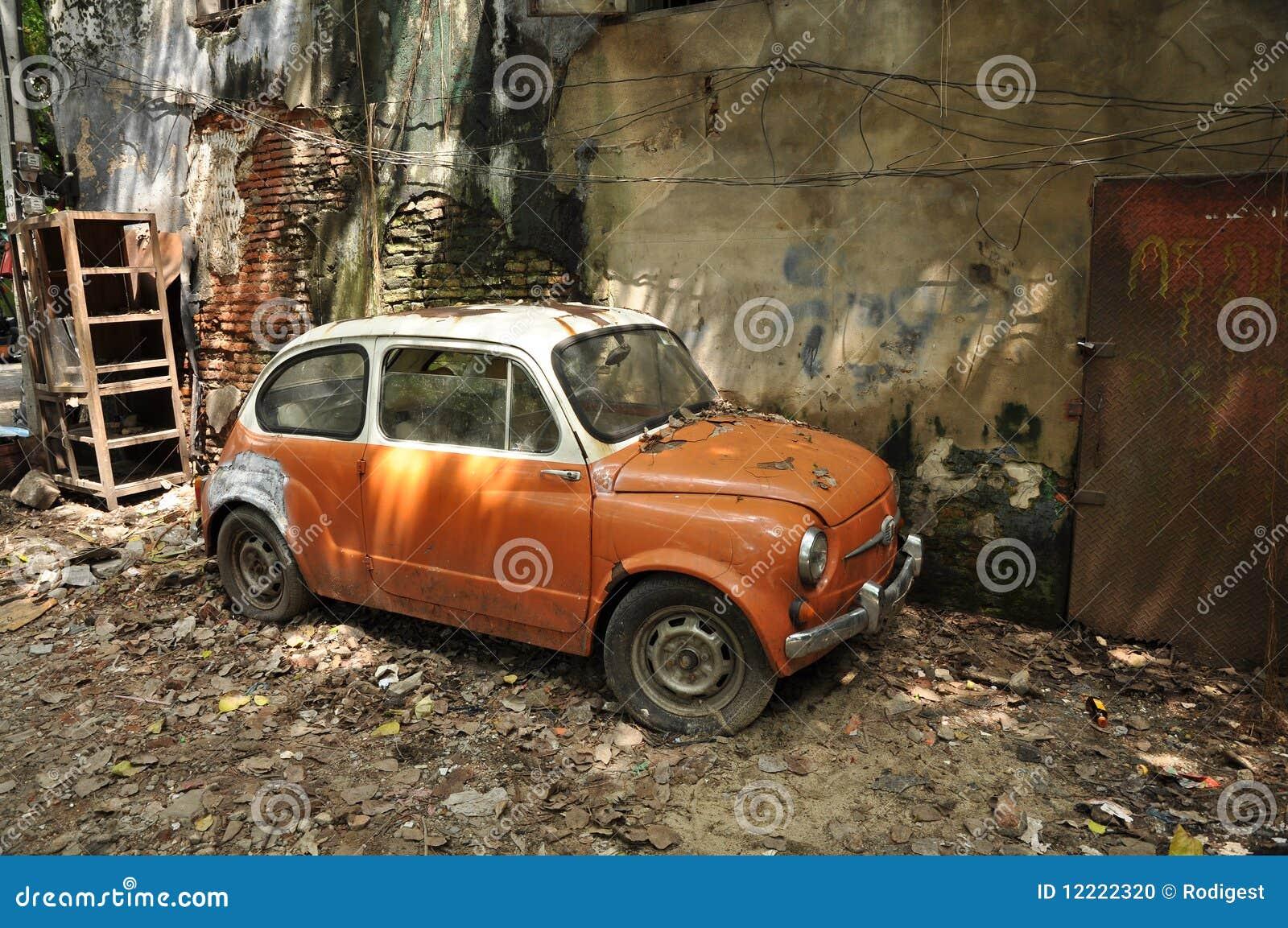 Mini Stock Car Crash