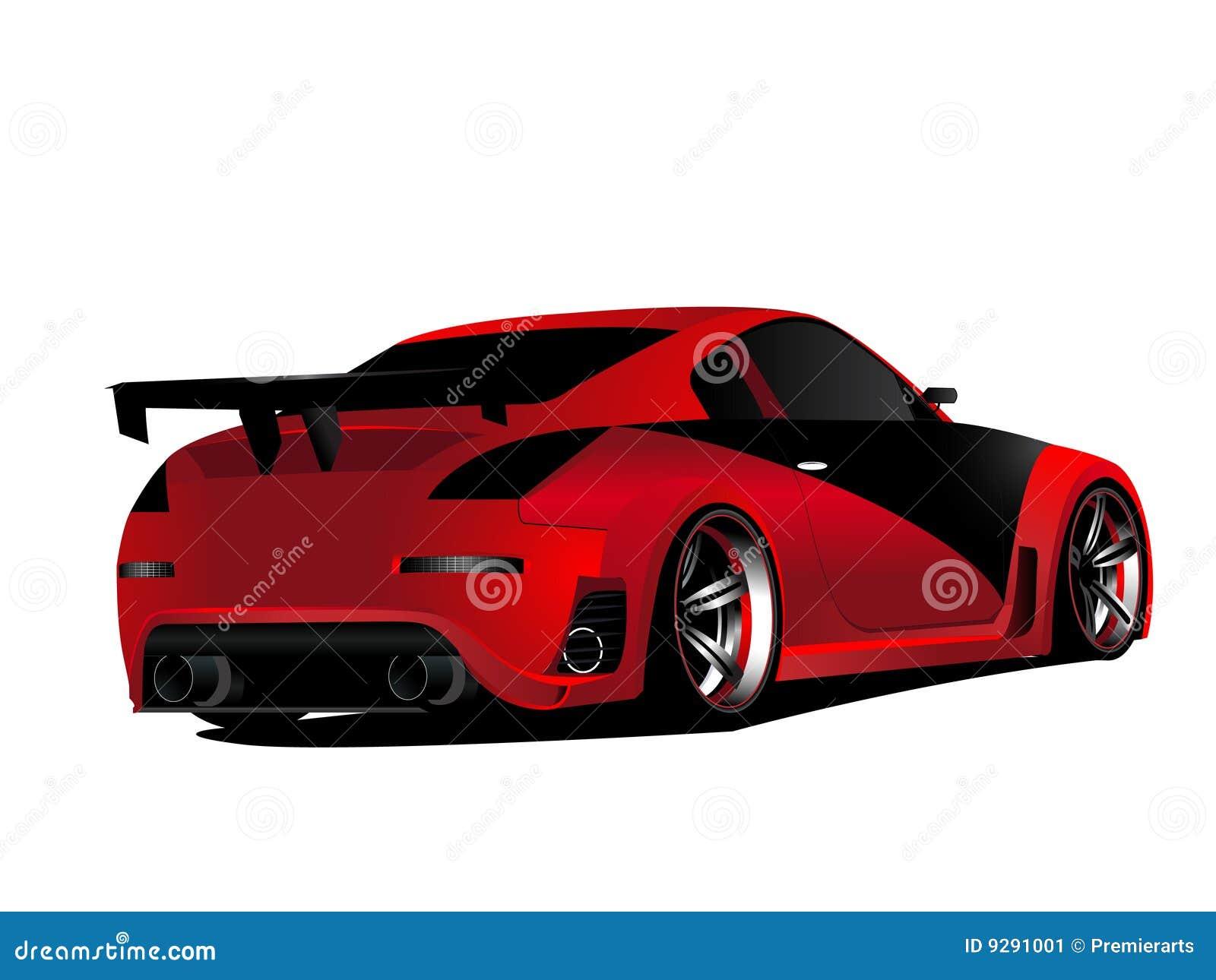 Derivação vermelha personalizada de nissan 350z turbo do nismo